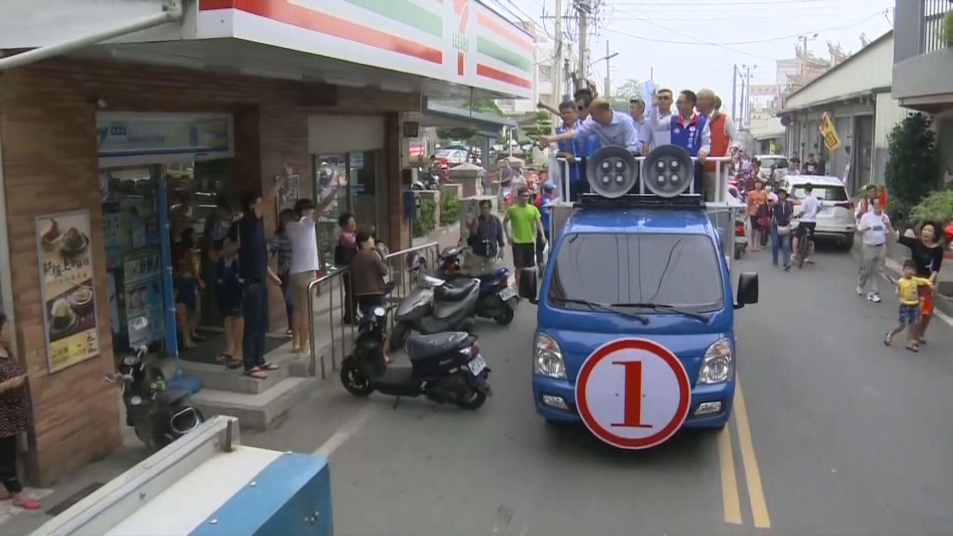 高雄市長選戰韓國瑜支持度首度領先陳其邁