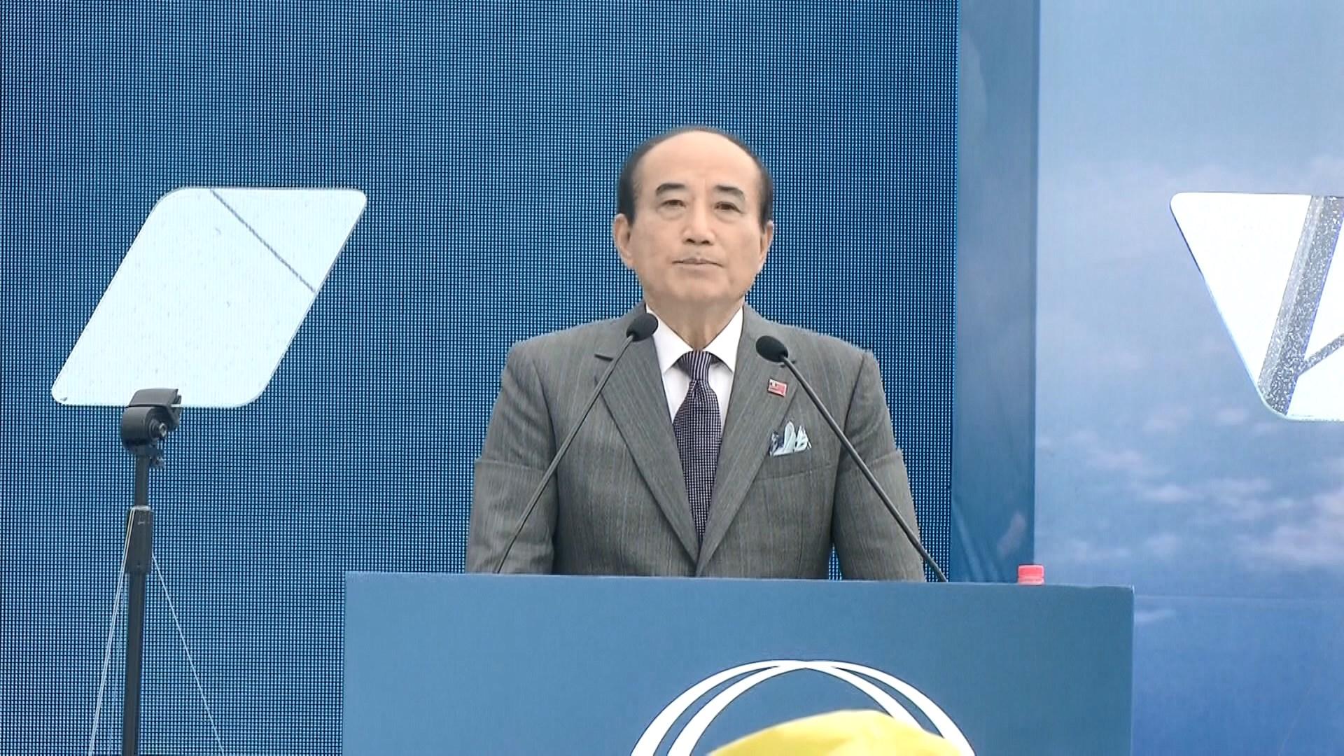 王金平宣布參選總統