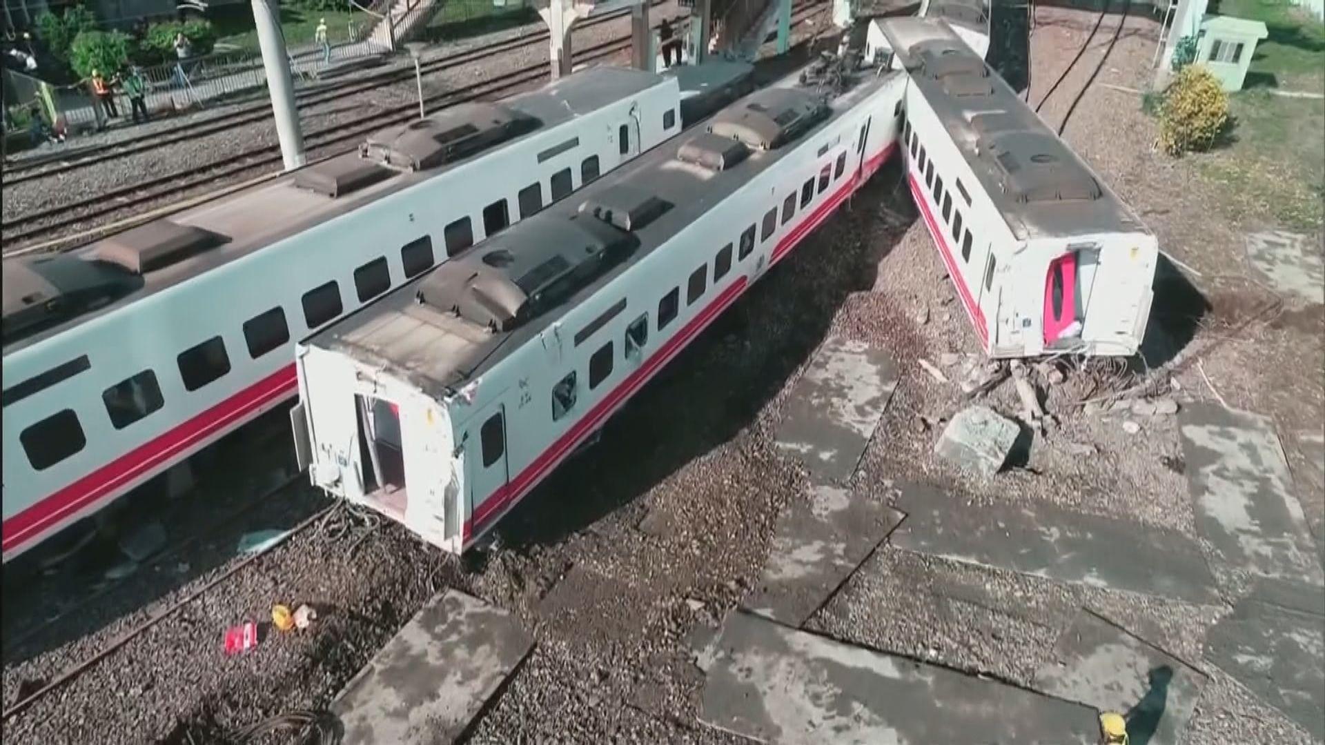 台鐵:司機多次報告煞車氣壓過低