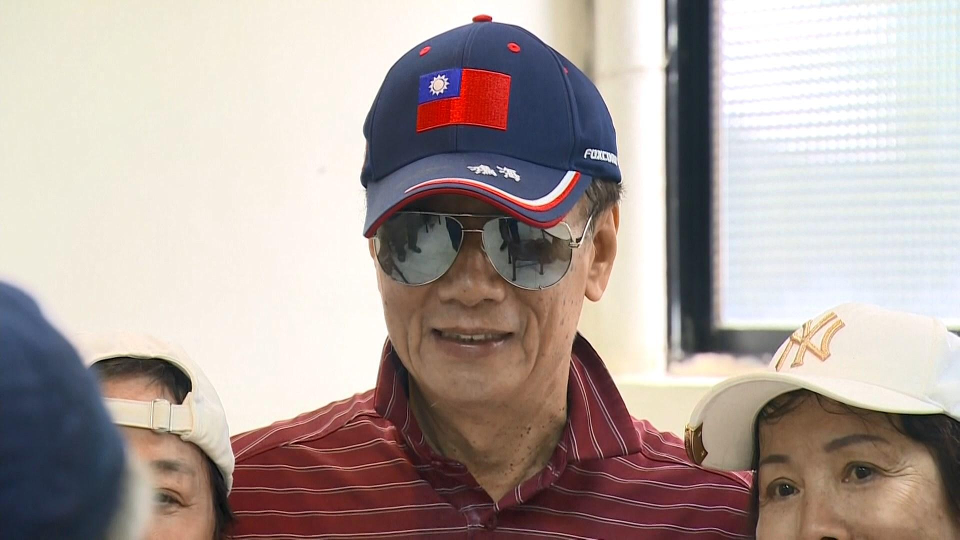 台灣富商郭台銘表明無意參選總統
