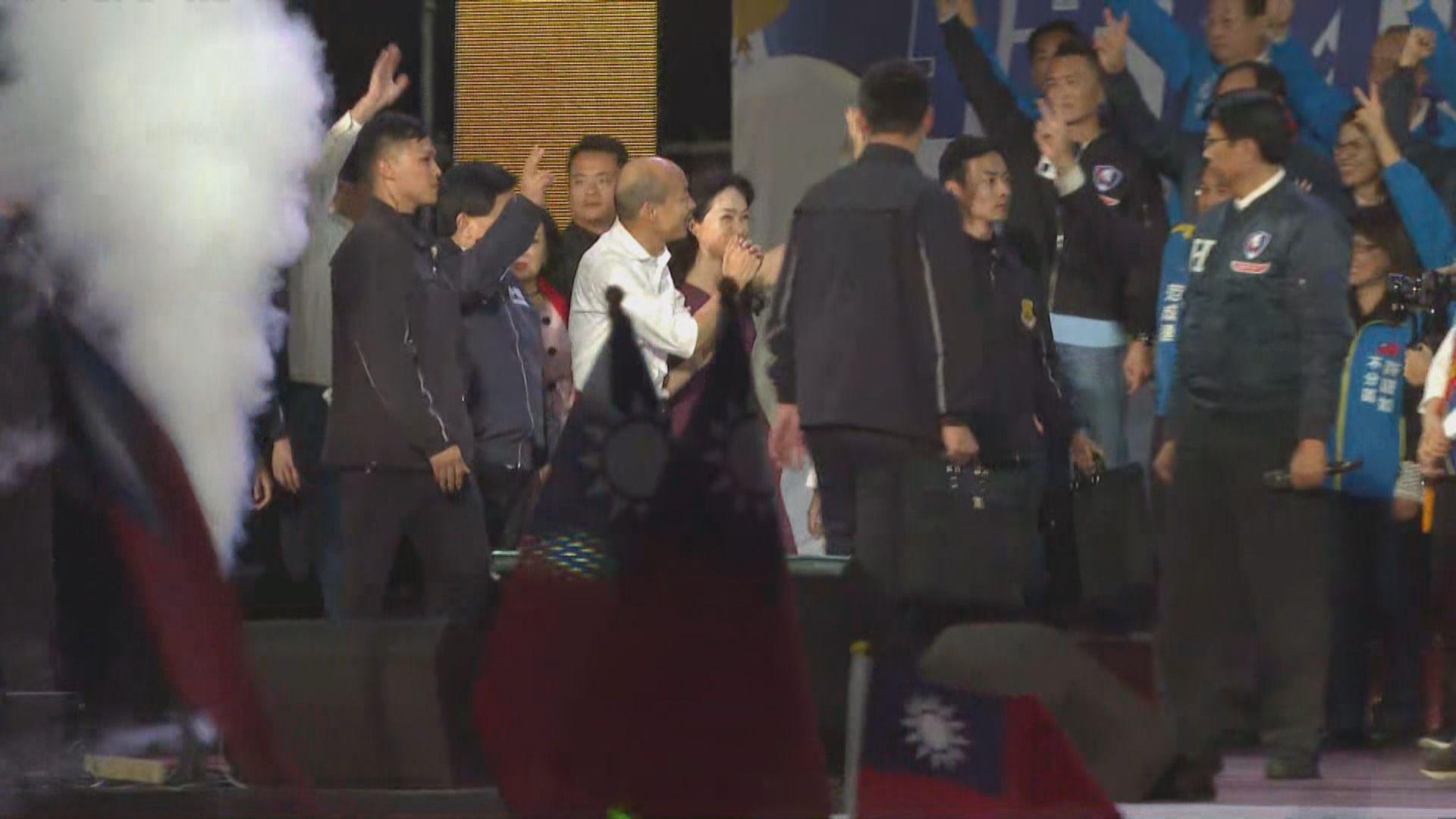 韓國瑜:如當選總統會發展經濟 不會重北輕南