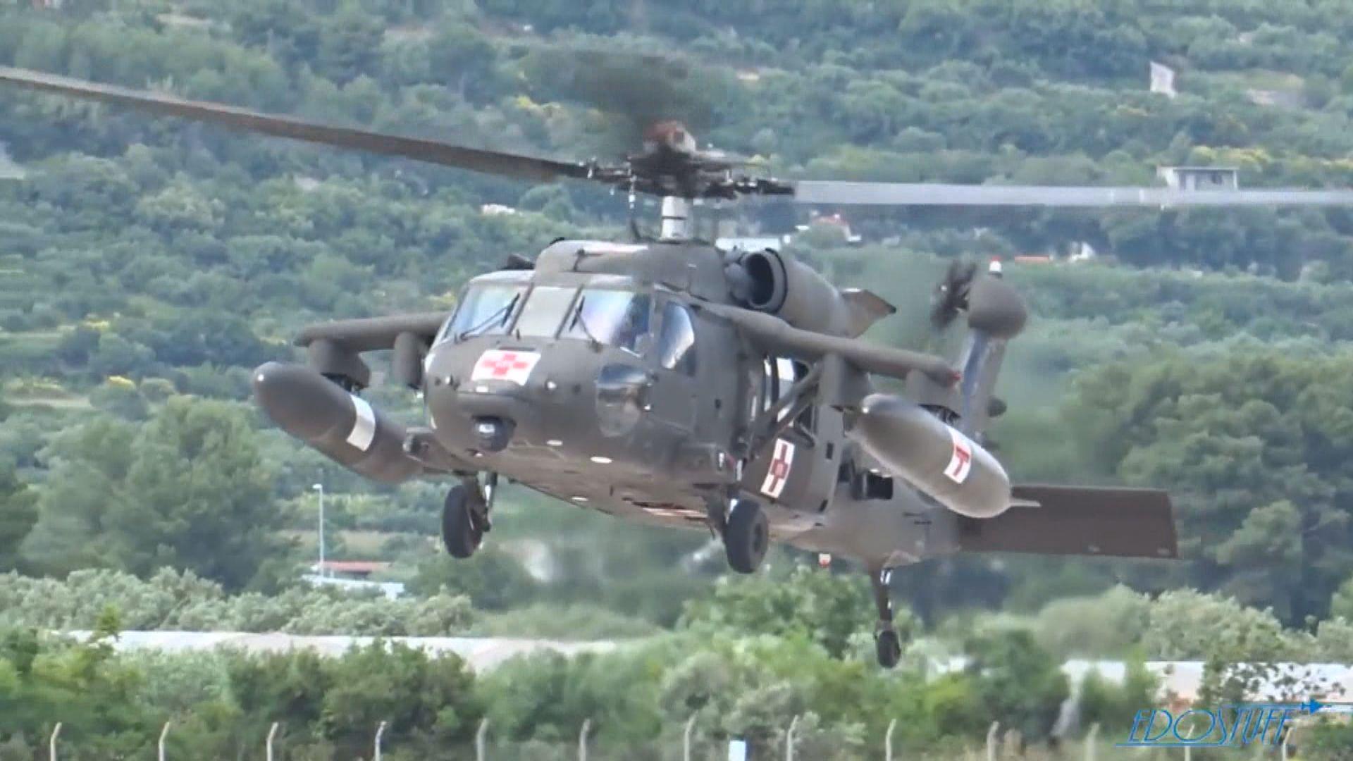 黑鷹服役逾40年用途廣泛