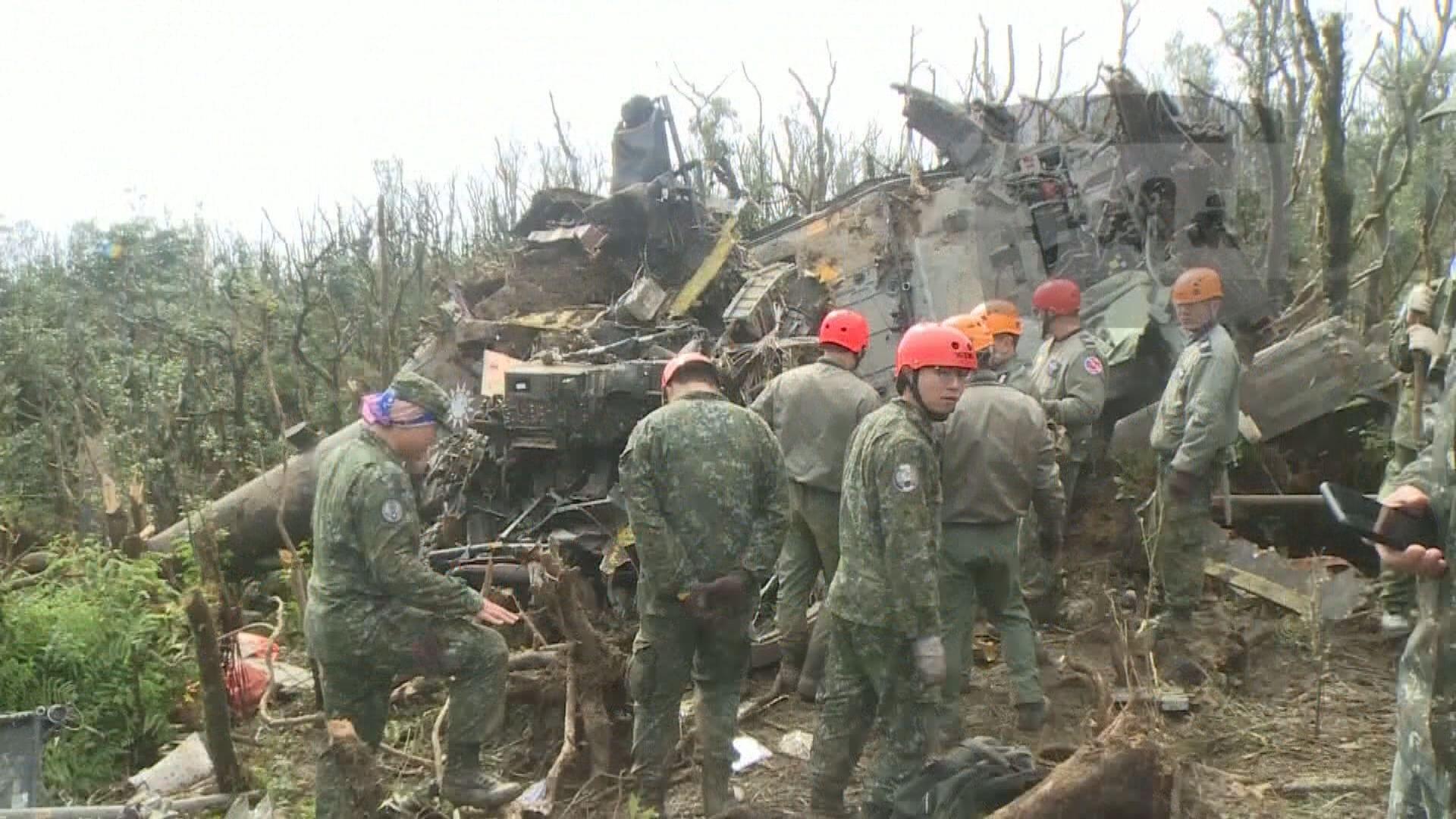 台灣完成墜毀黑鷹直升機黑盒分析