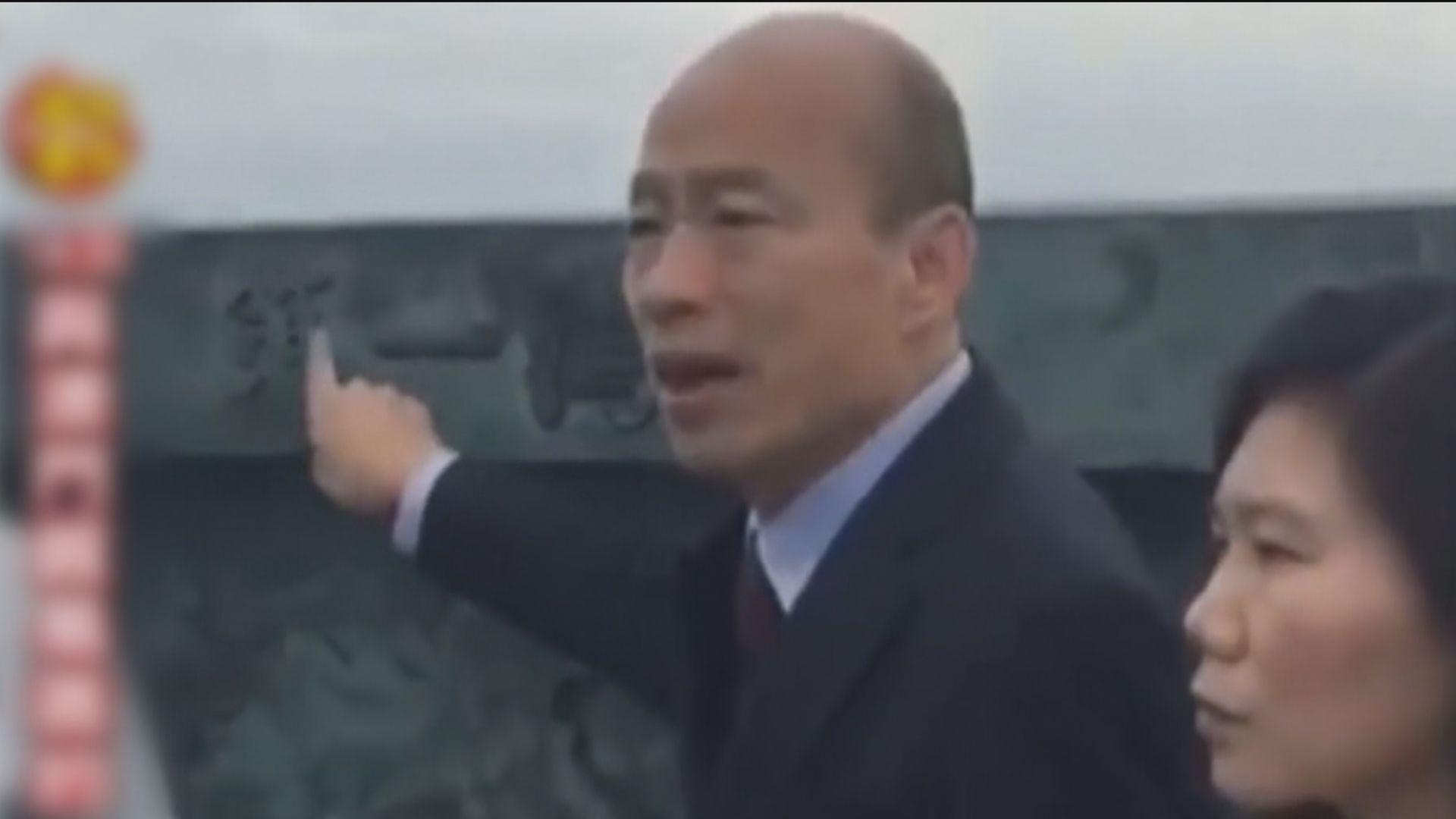 韓國瑜經港珠澳大橋往澳門繼續訪問