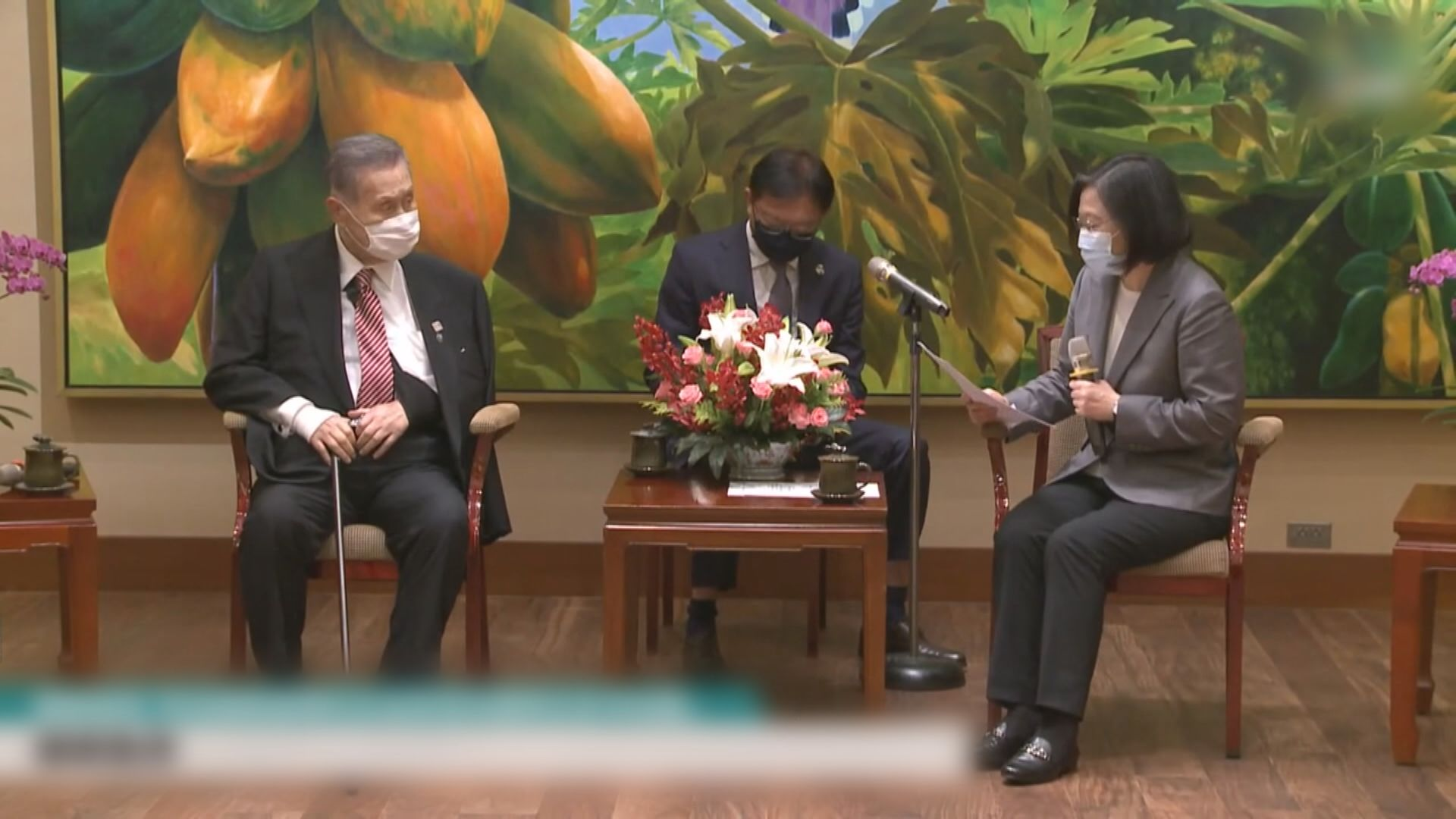 森喜朗稱日揆菅義偉期待與蔡英文通電話