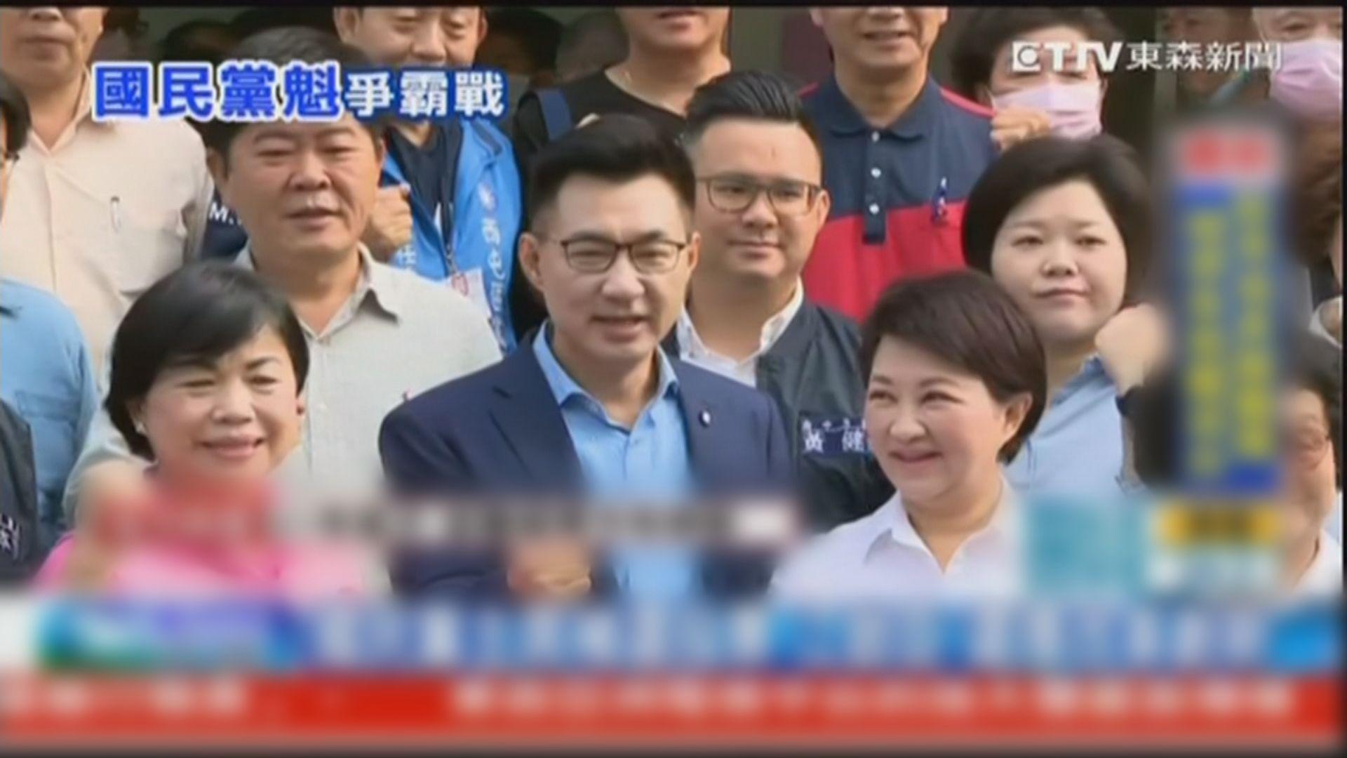 少壯派立委江啟臣勝出國民黨主席補選