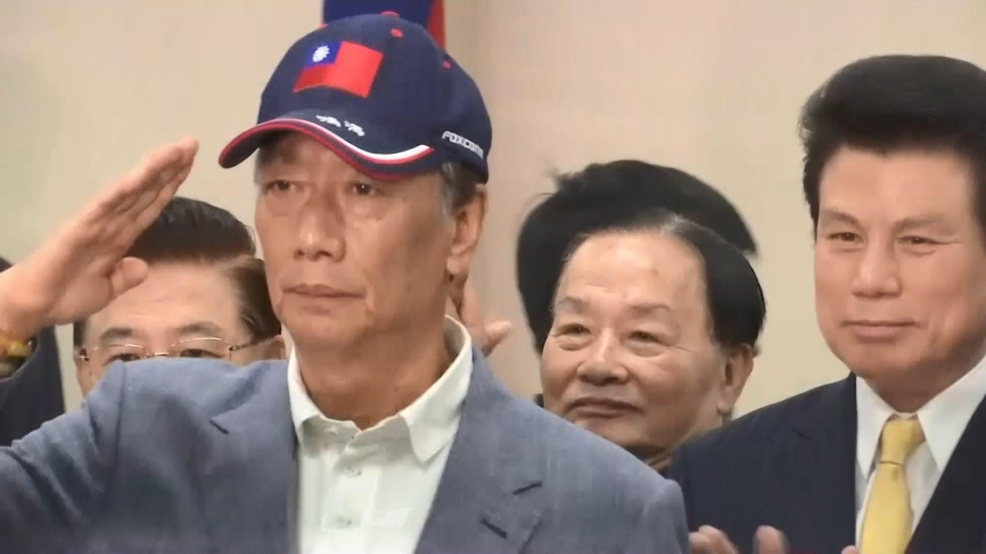 郭台銘願參加總統初選 重申不接受徵召