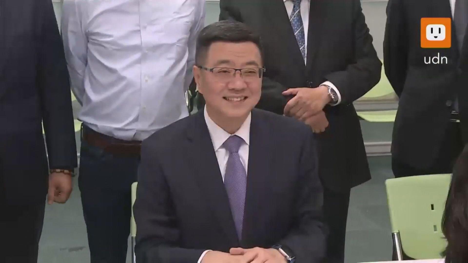 行政院秘書長卓榮泰參選民進黨主席