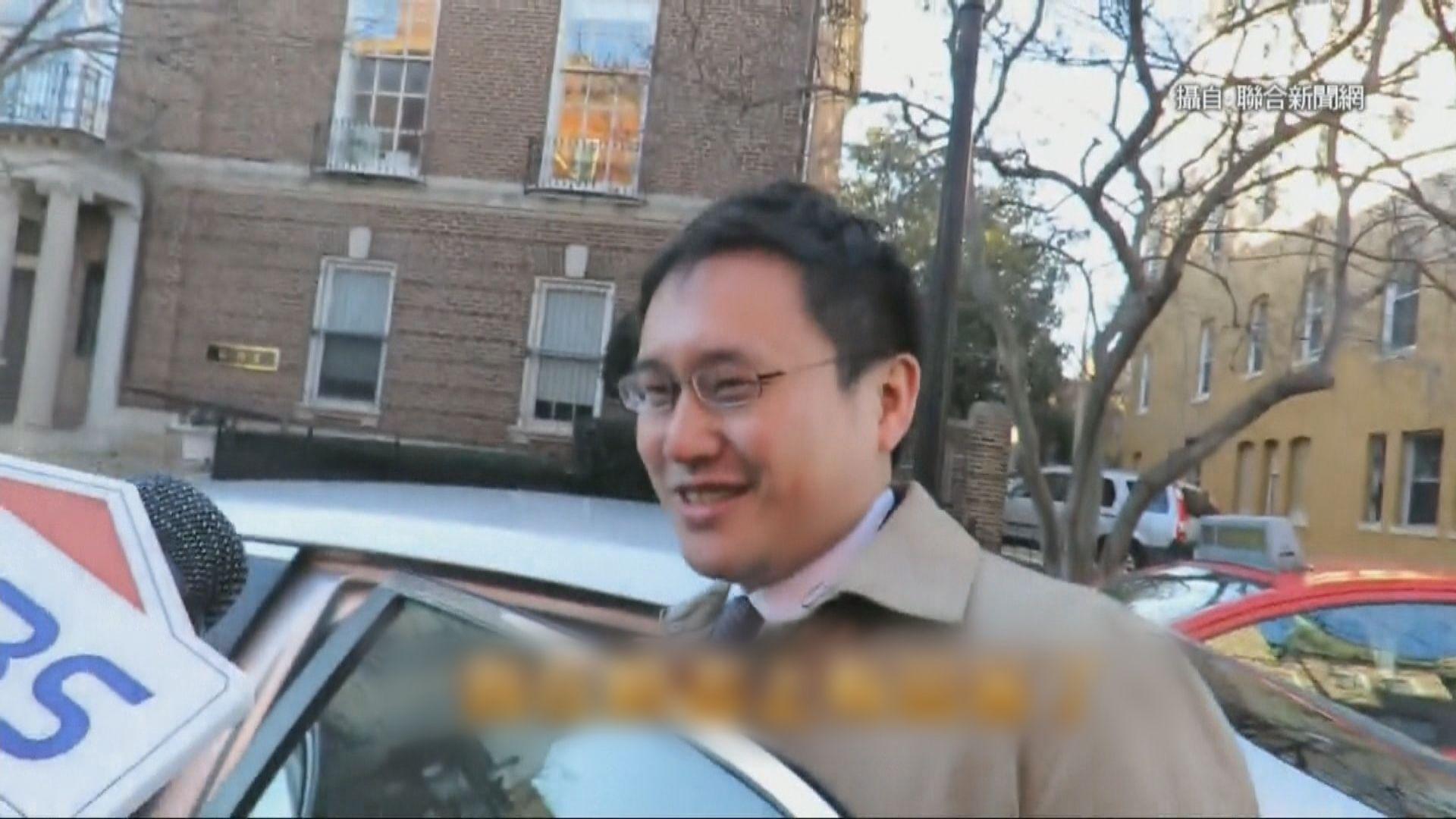 台駐美政治組長欠經驗惹爭議