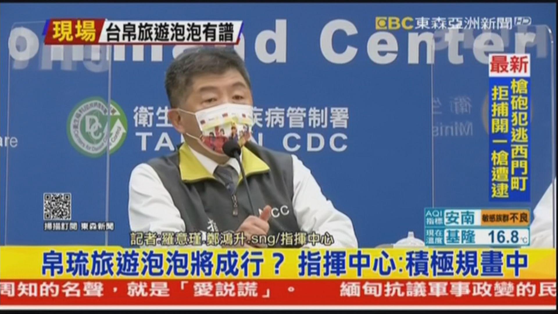 台灣與帕勞討論推行旅遊氣泡