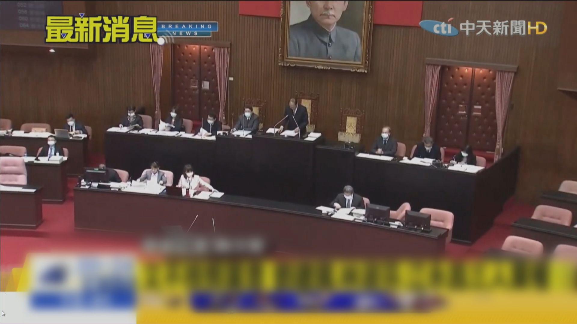 台灣立法院通過放寬進口美國含瘦肉精豬肉