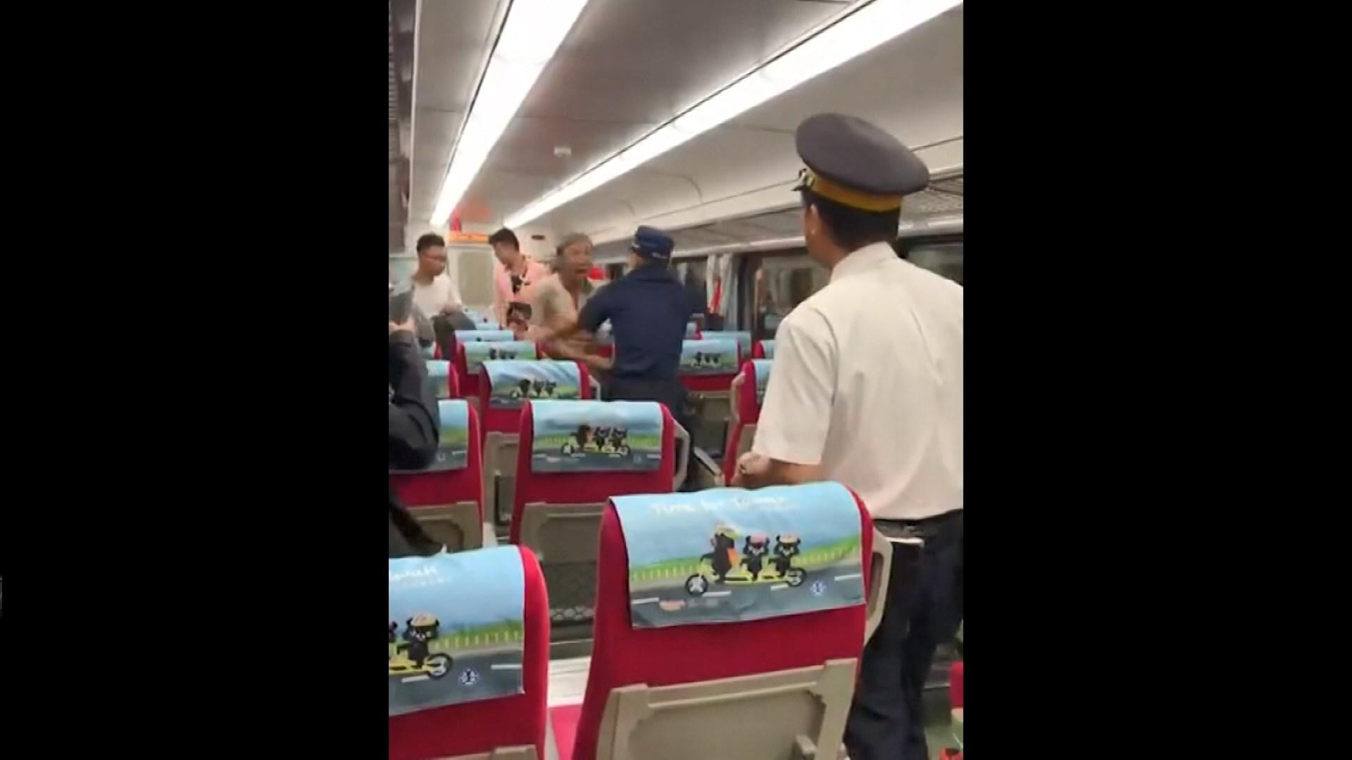 台灣鐵路警察處理補票糾紛遭刺死