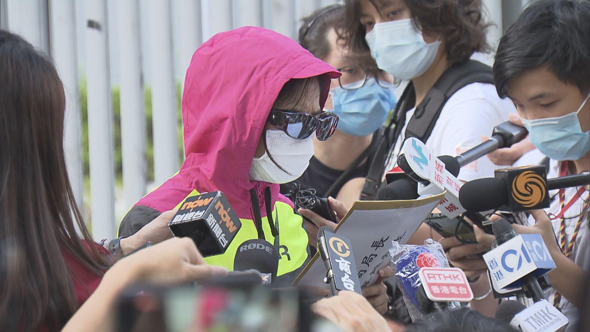 消息:警邀約潘曉穎母親周日早上會面