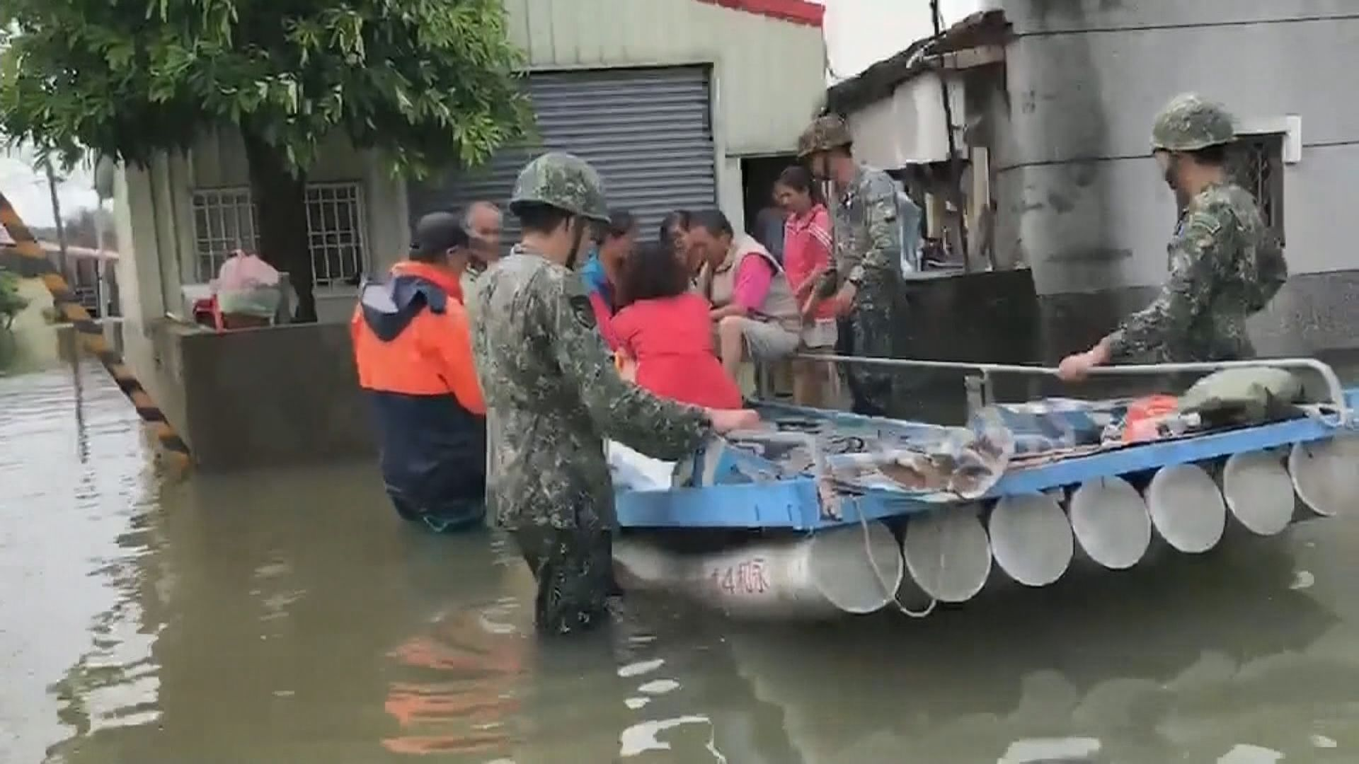 台灣水災持續將迎新一輪暴雨