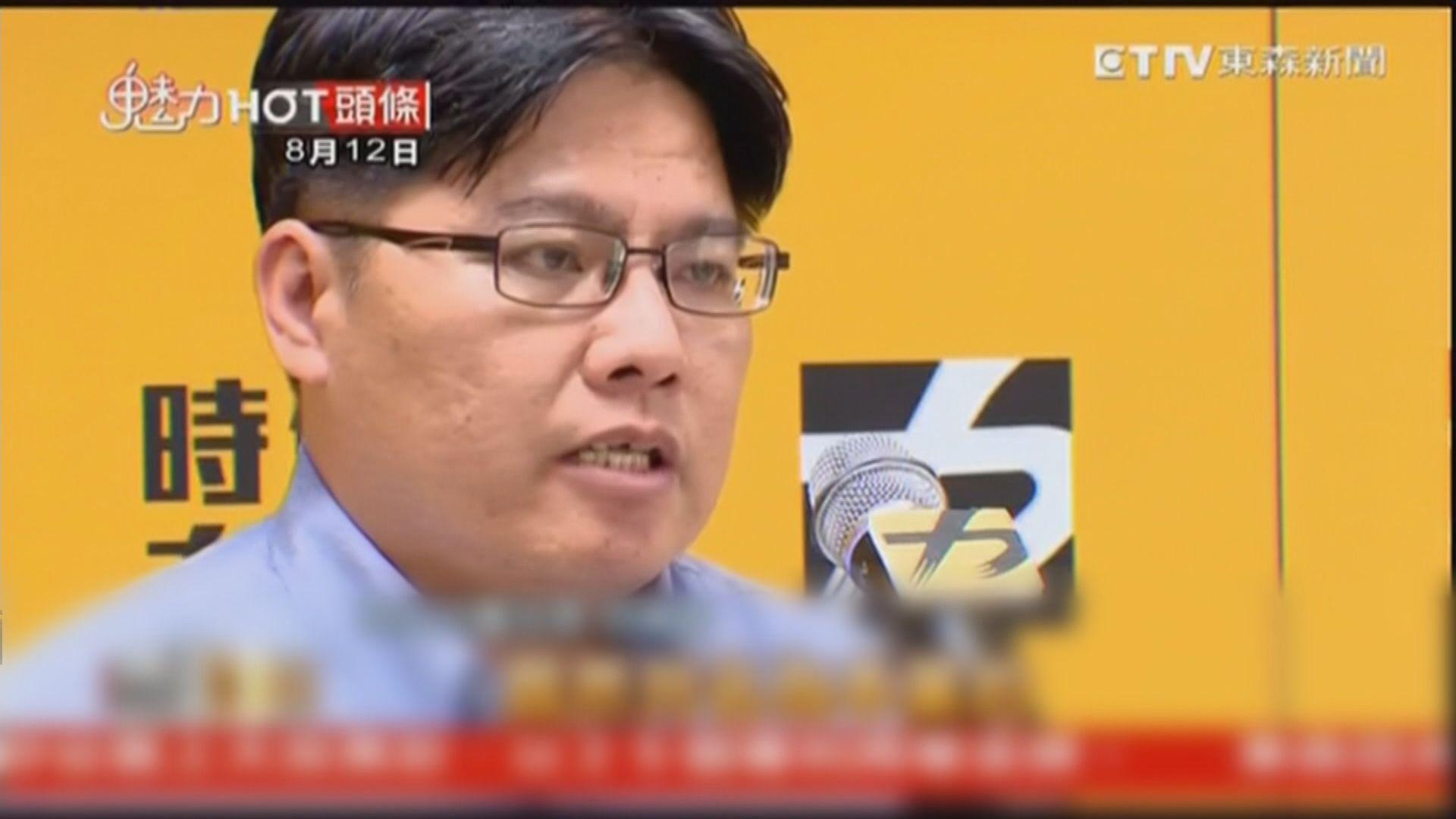 台灣時代力量黨主席邱顯智辭職