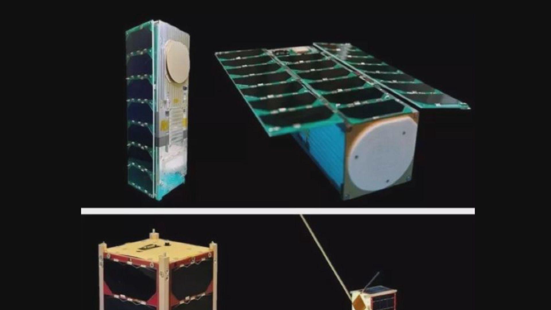 台灣飛鼠衛星早上成功與地面站取得聯絡