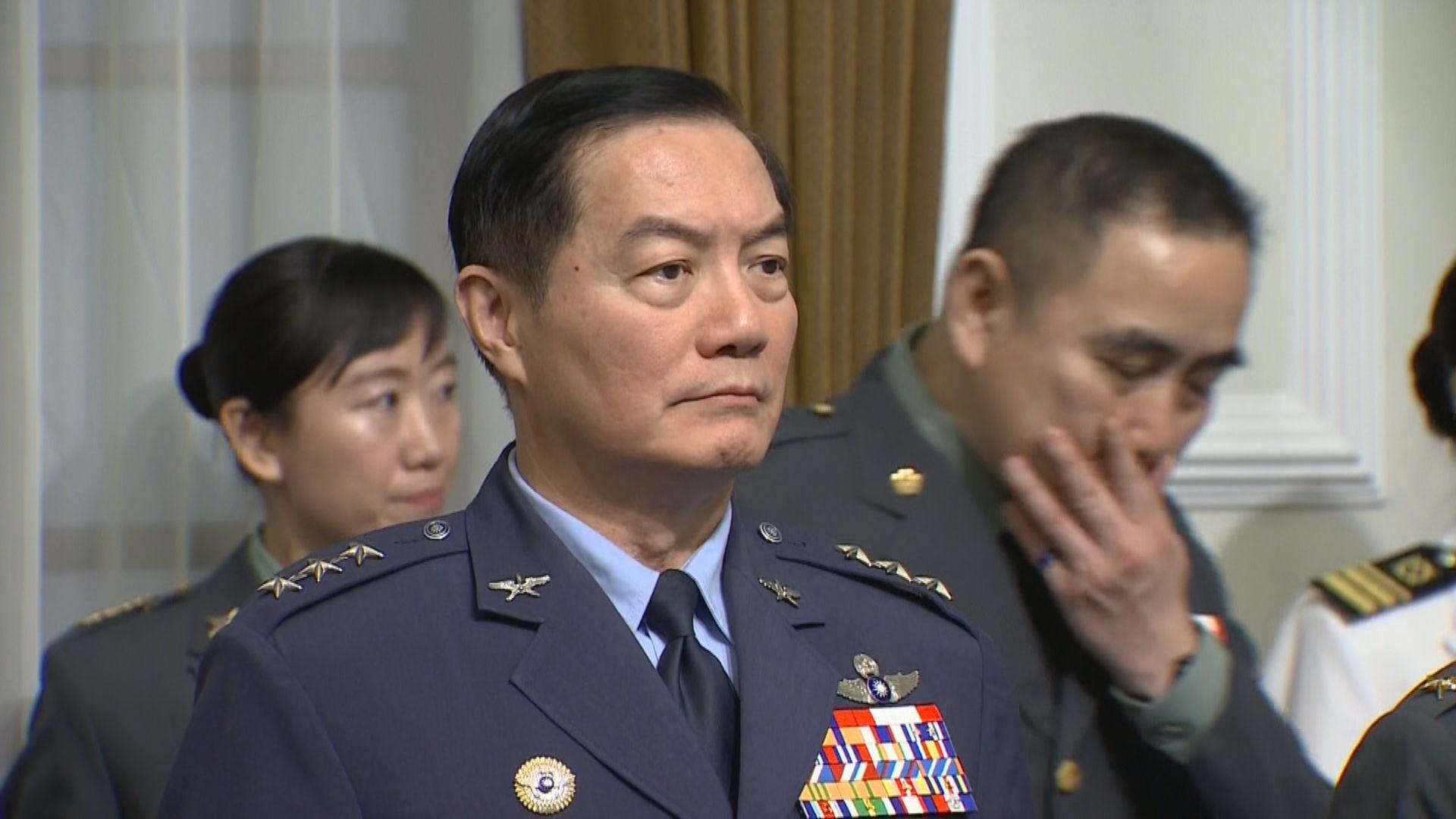 沈一鳴熟悉軍事外交 是軍中明日之星