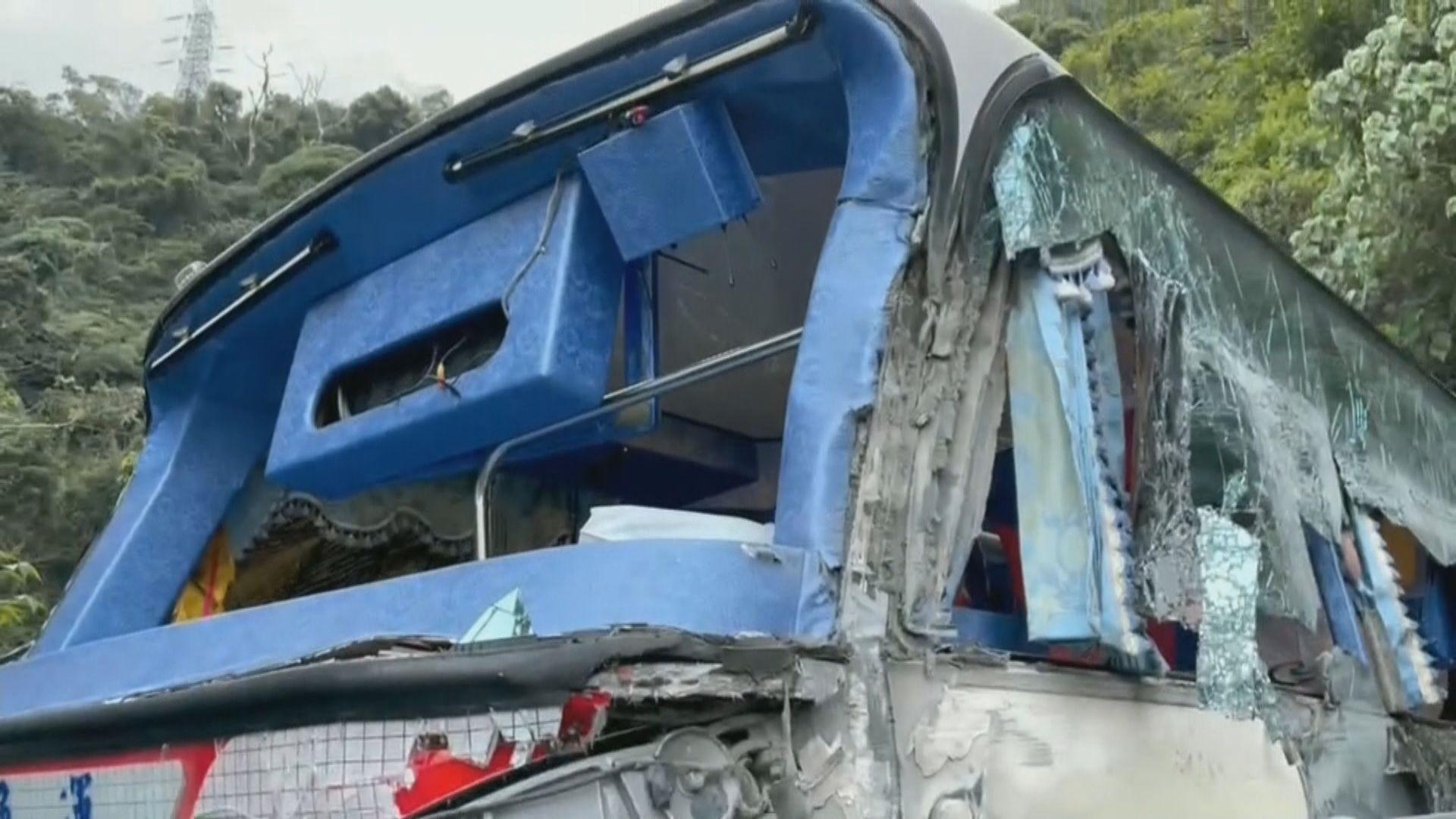 台灣宜蘭發生車禍 據報涉事司機表示事發時煞車失靈