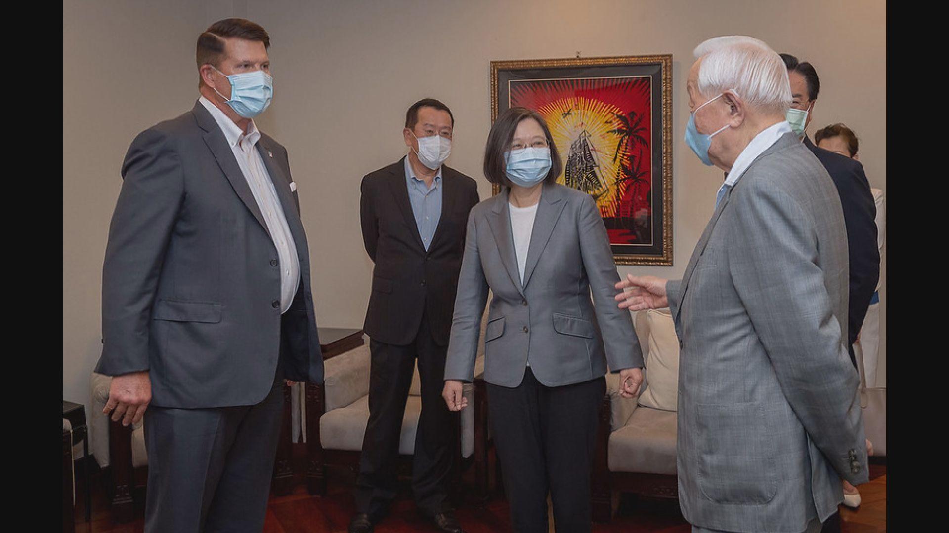 蔡英文總統宴請美國副國務卿克拉奇