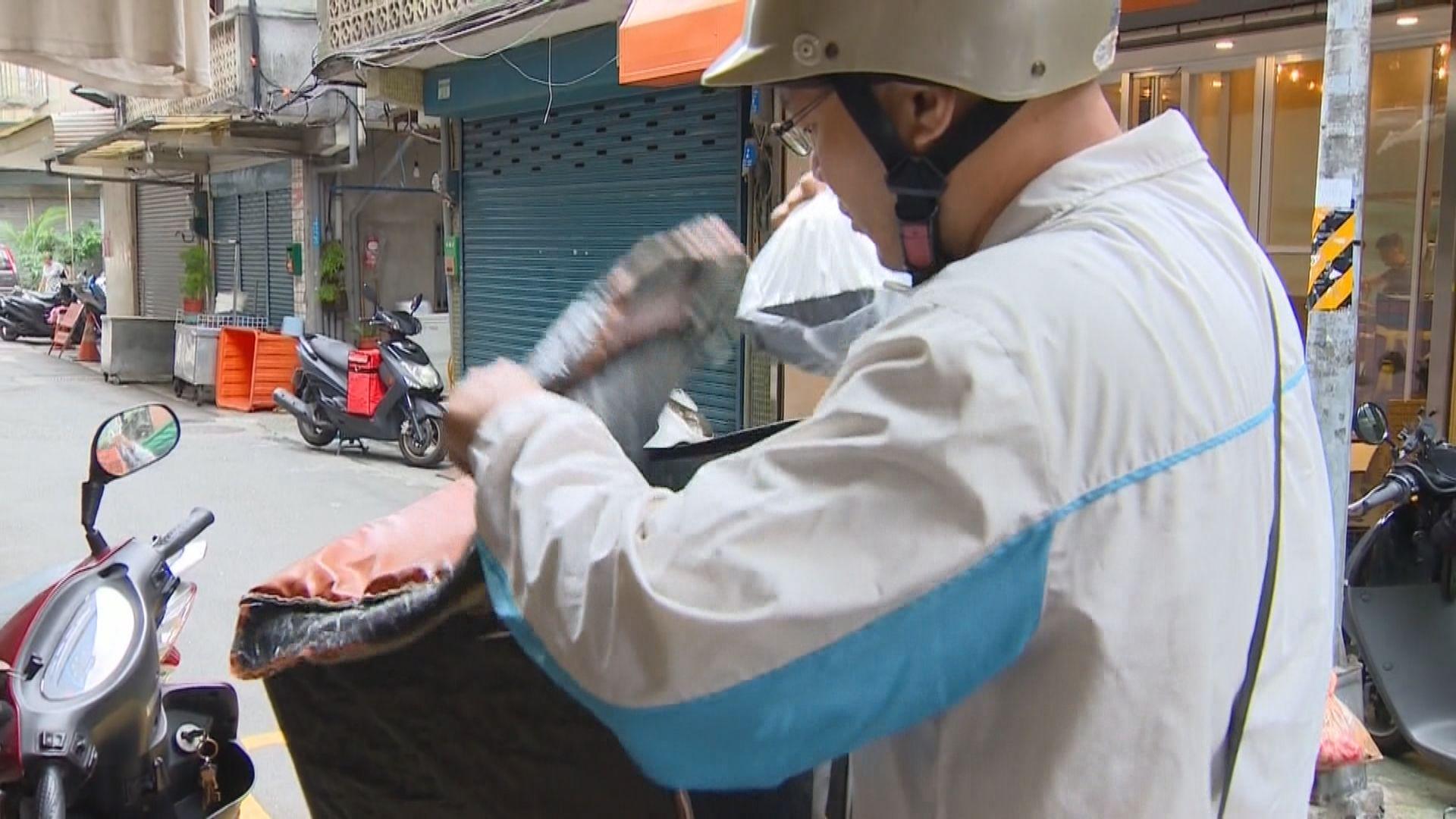 台灣接連有外賣員死於車禍引發僱傭爭議