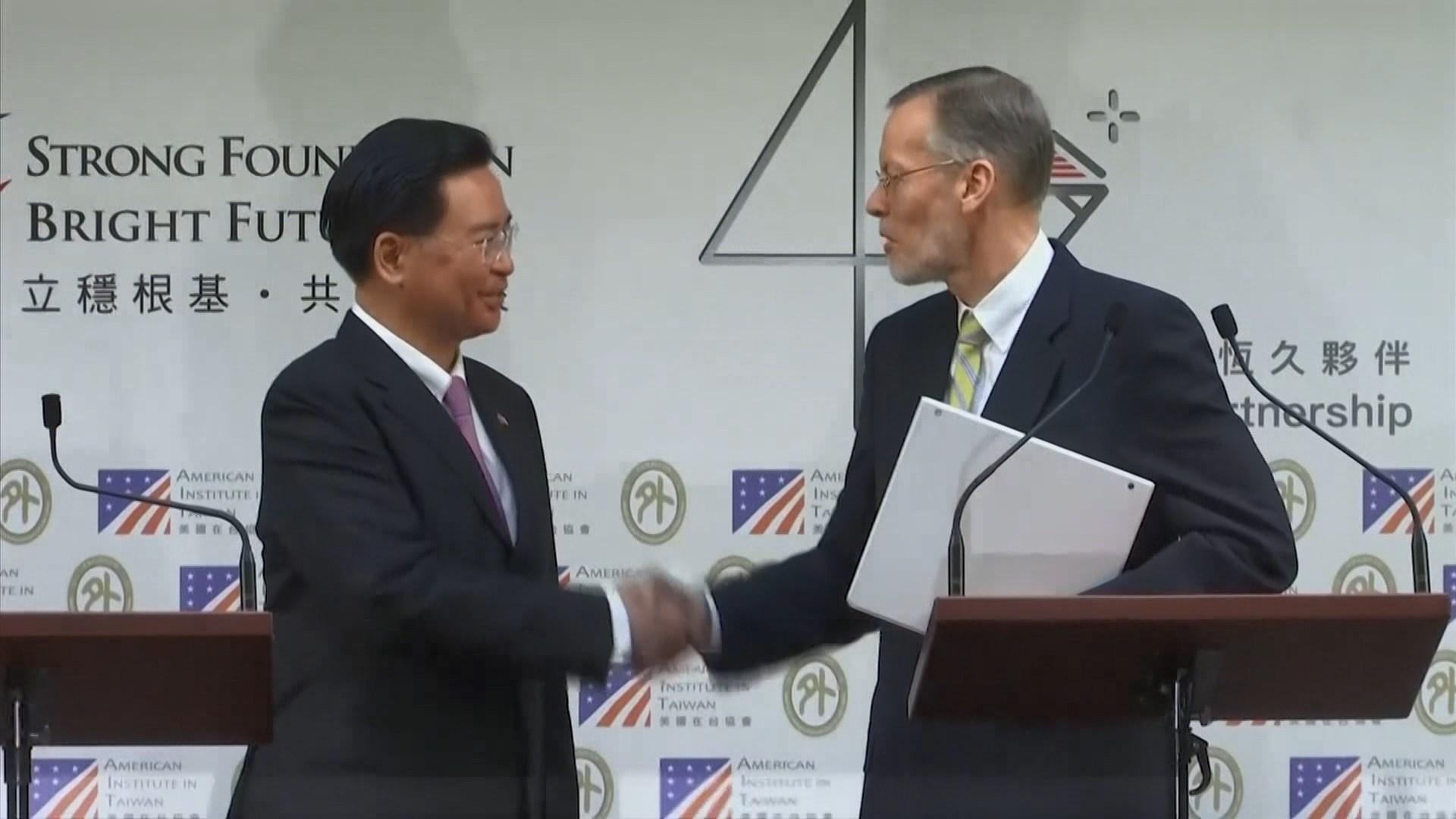 台美建立新定期對話機制促民主及自由等合作