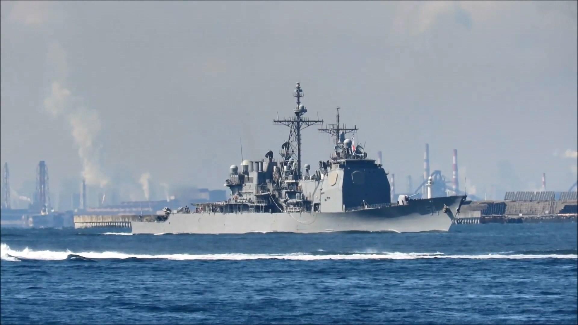 美軍兩艘驅逐艦穿越台灣海峽