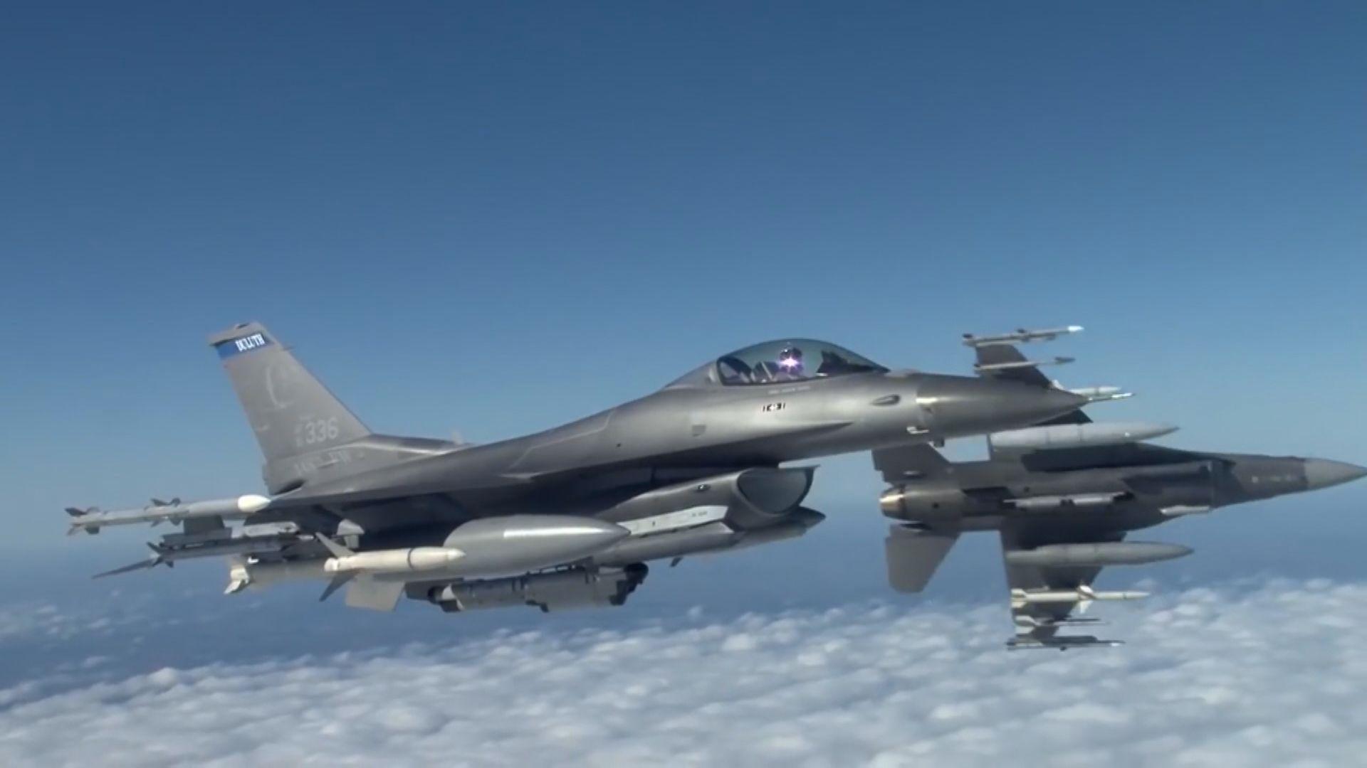 台灣採購66架F-16V簽訂供貨意向書