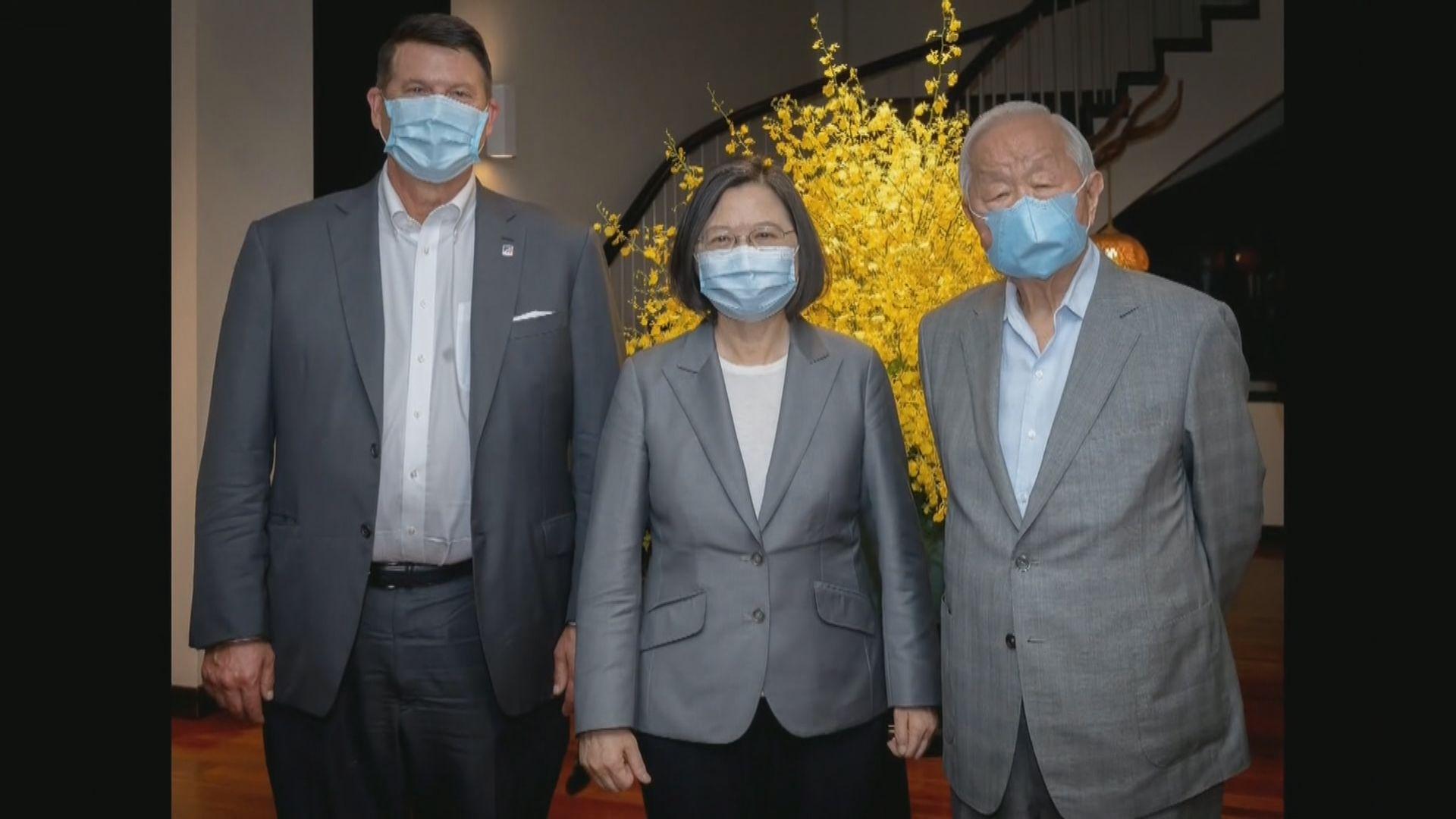 美副國務卿結束台灣訪問 台方稱與其就多項議題交換意見成果豐碩