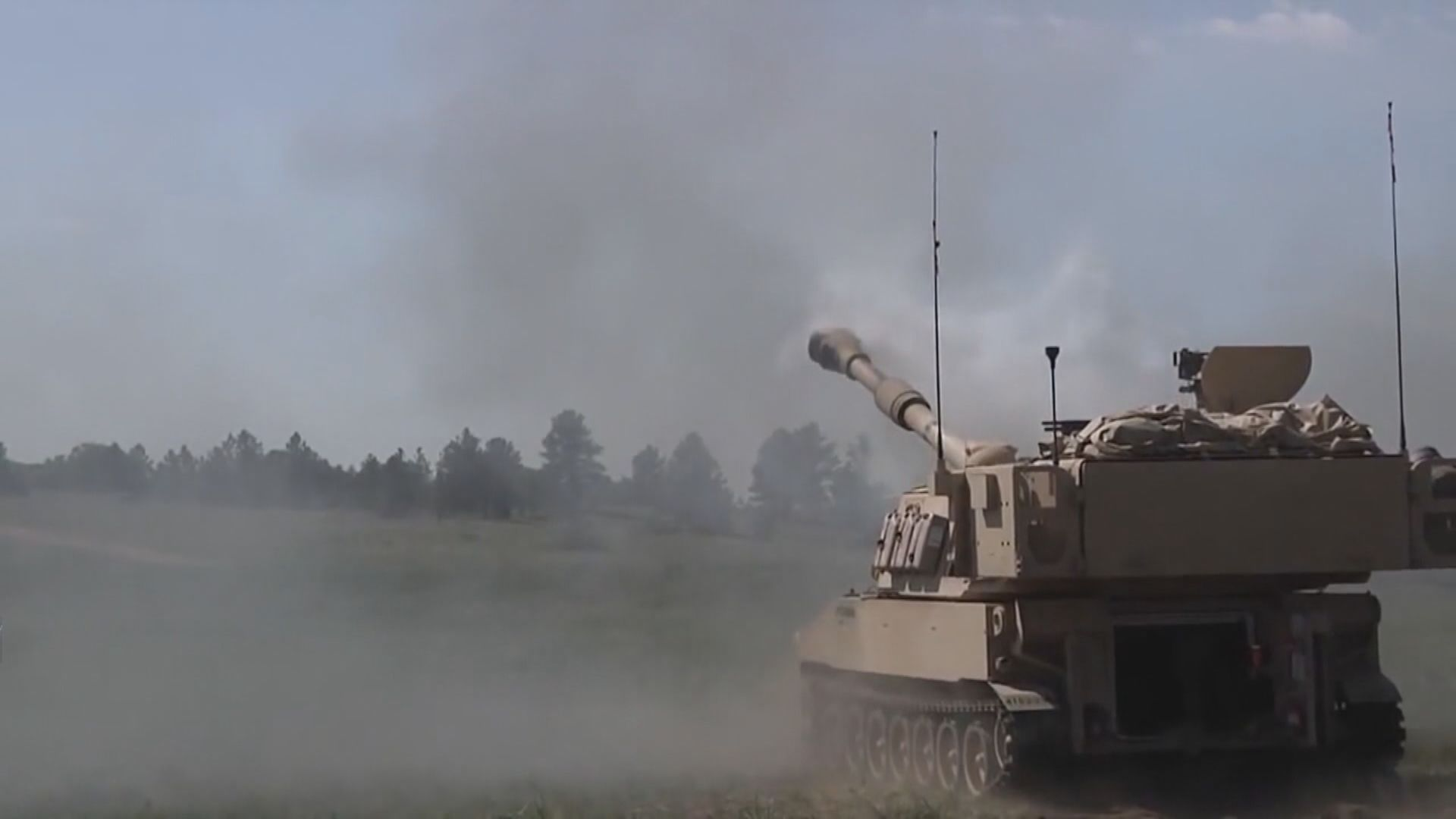 美國據報將向台灣出售M109A6自走炮