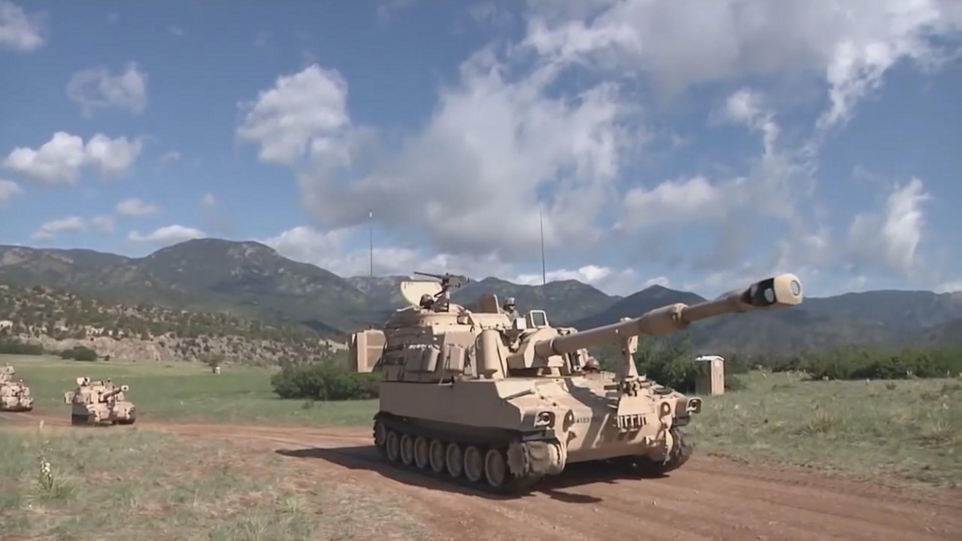 美國據報將向台灣售自走炮 台國防部長:未獲正式通知