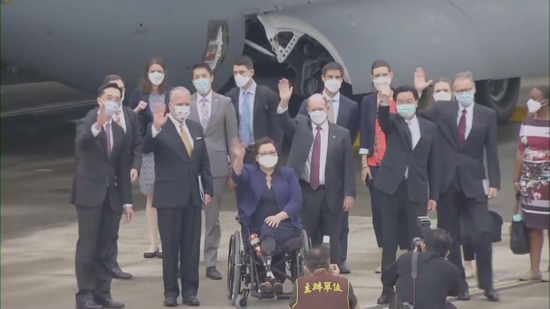 美國三參議員訪台晤蔡英文 北京多次反對美台官方往來