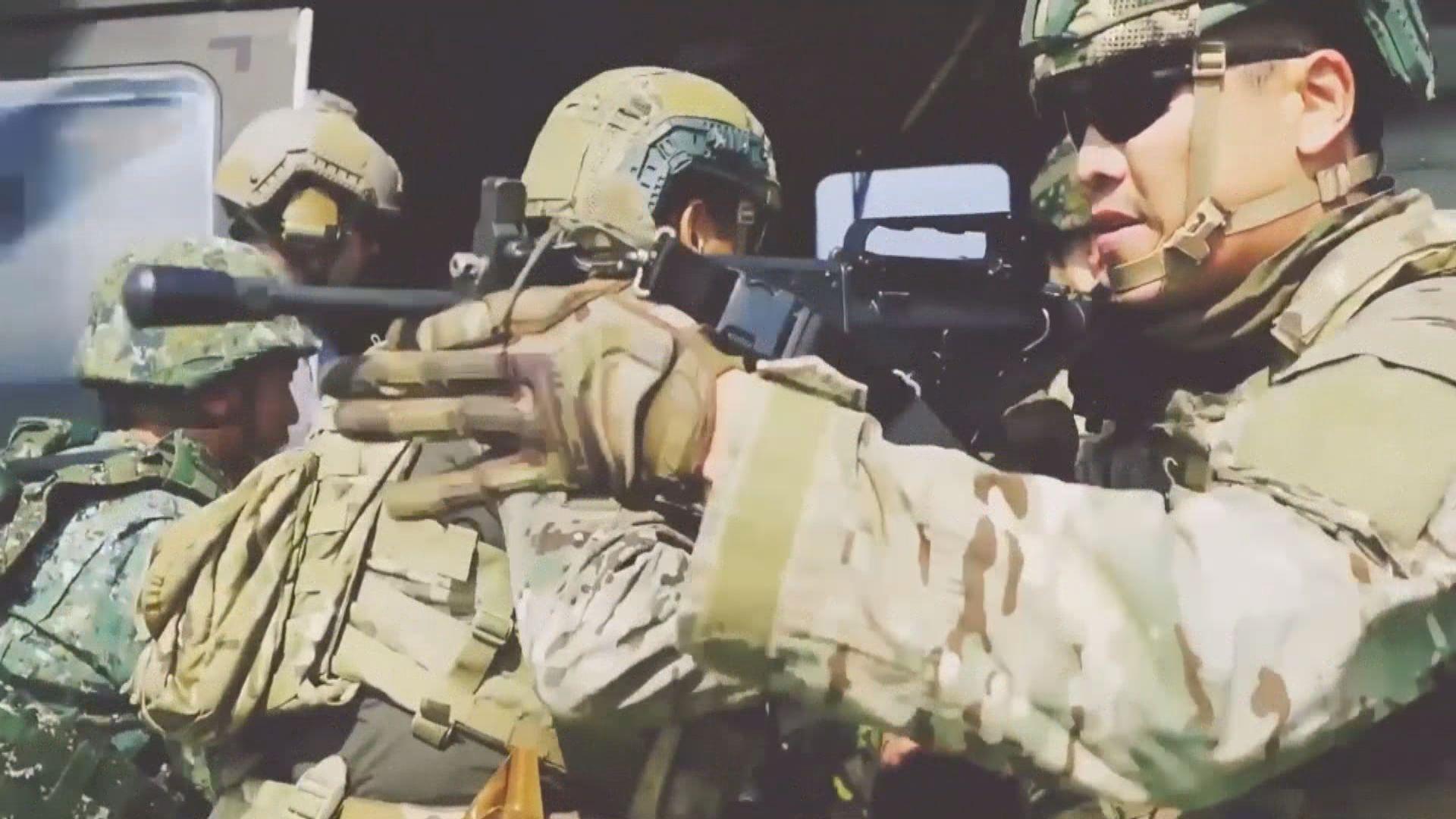 蔡英文首證美軍在台訓練 環球時報批是破底線的事