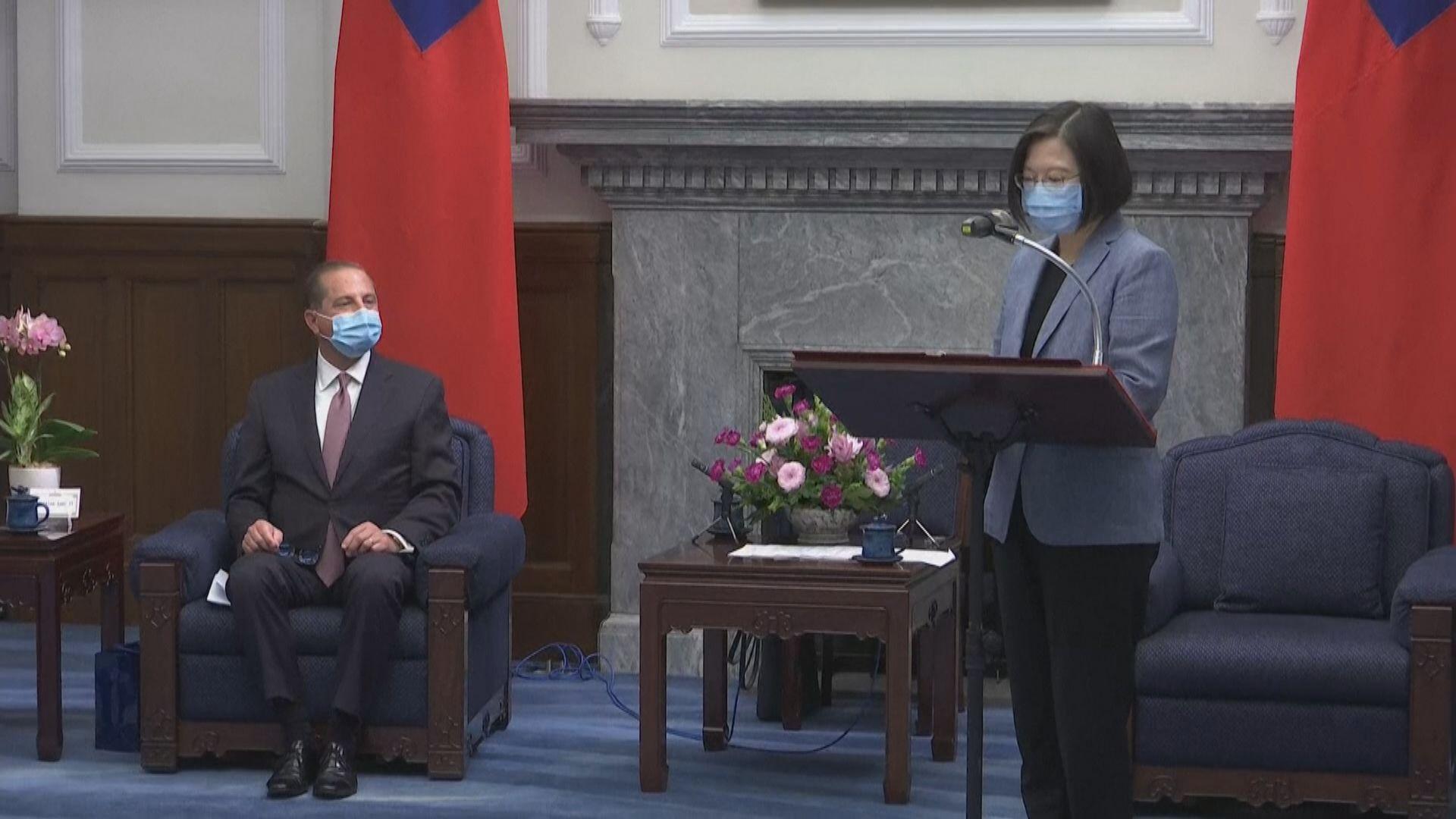 蔡英文感謝特朗普政府肯定台灣抗疫模式