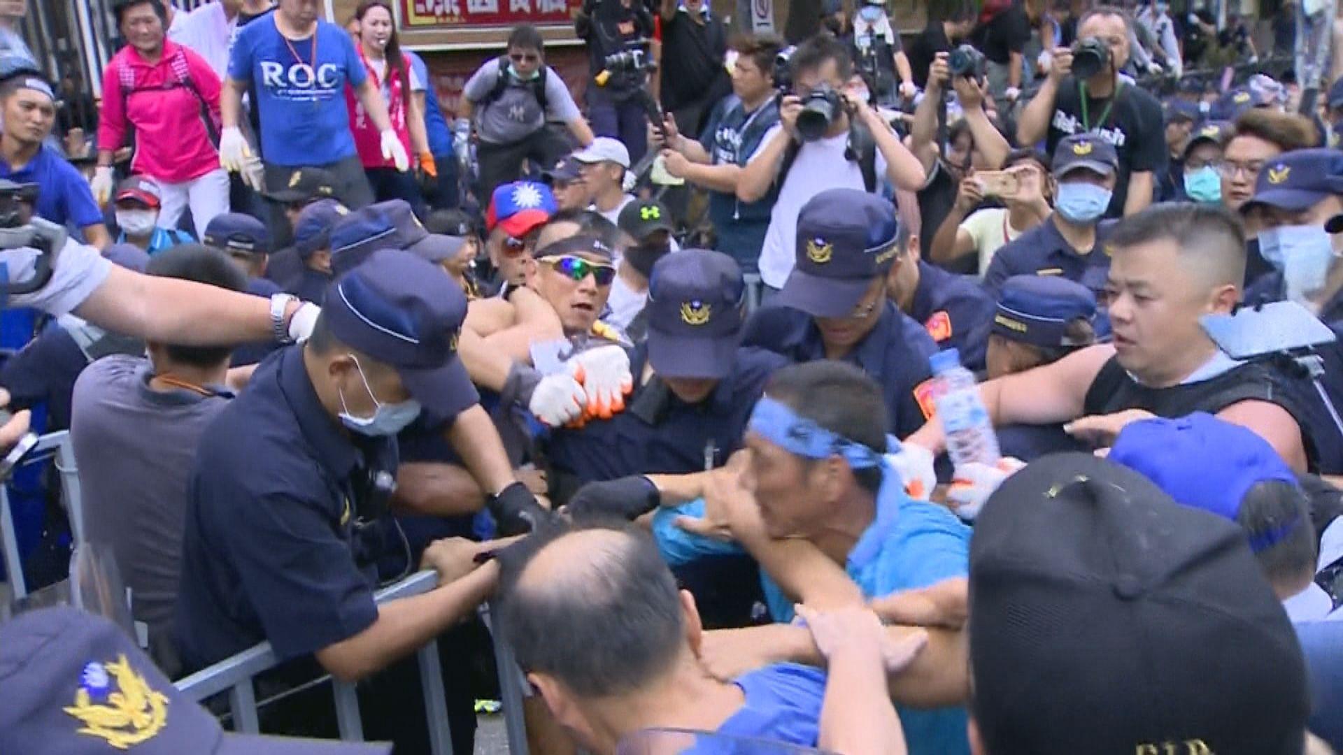 台立法院通過由陳菊任監察院長 國民黨拒承認點票結果