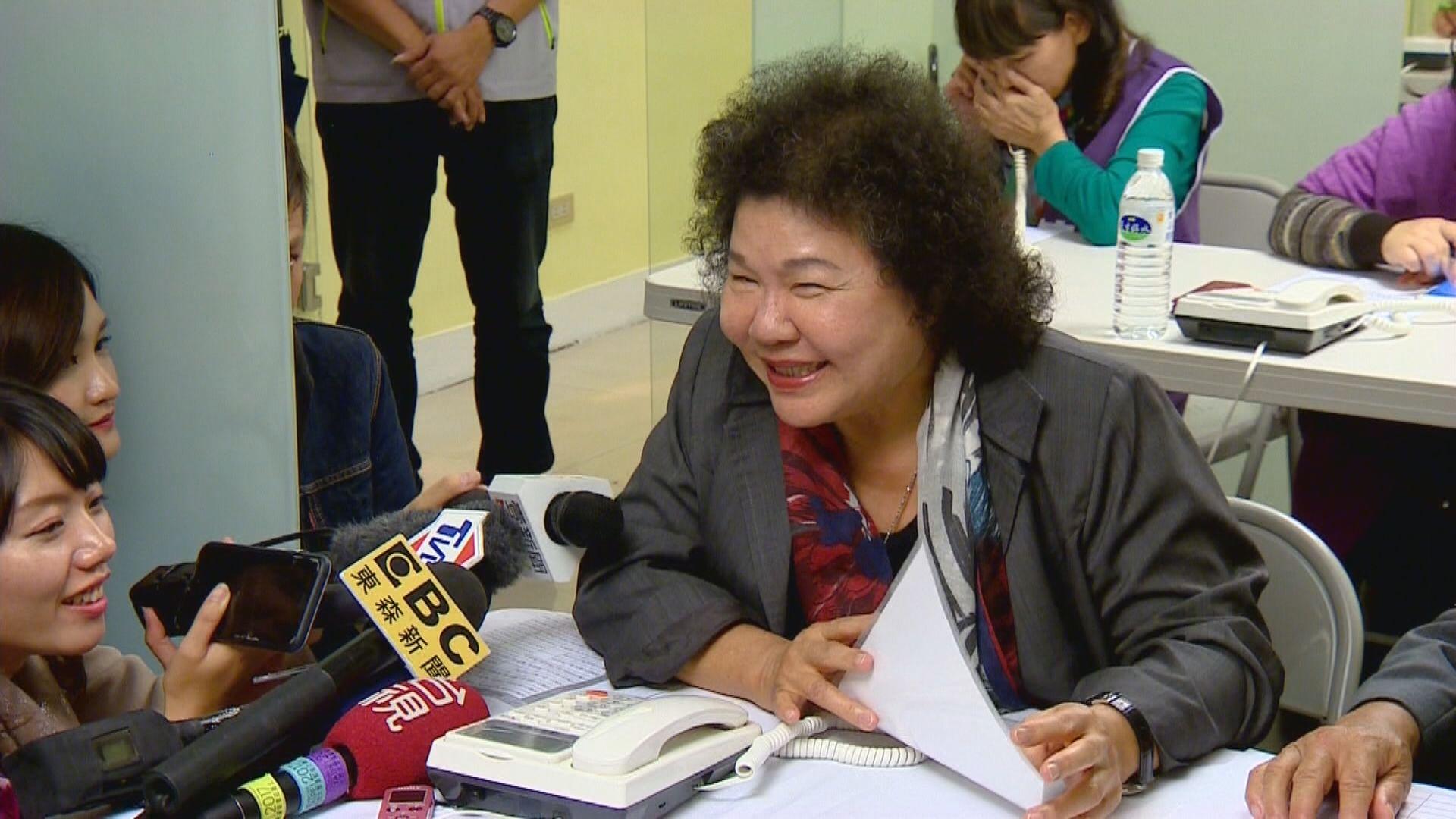 爭議聲中通過任監察院長 陳菊:會全力以赴