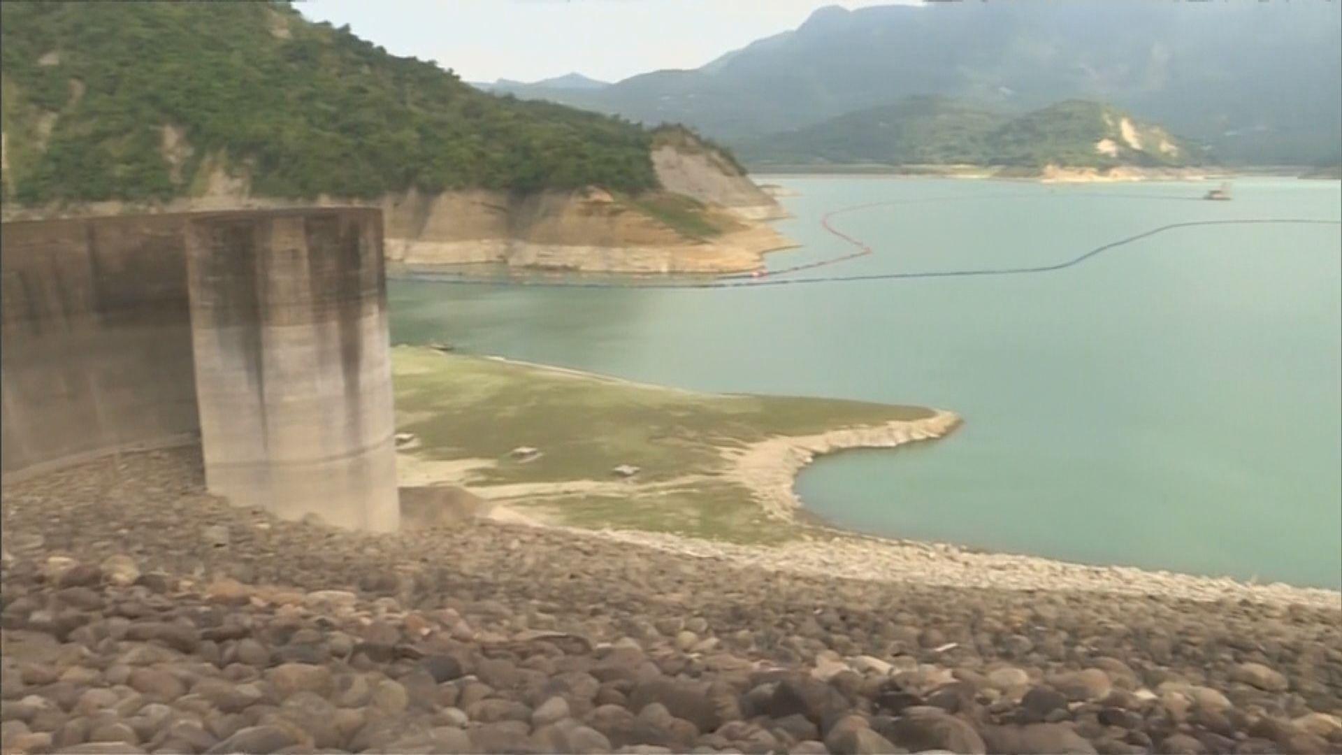 台灣缺水問題持續嚴峻 多個主要水庫蓄水量少於兩成