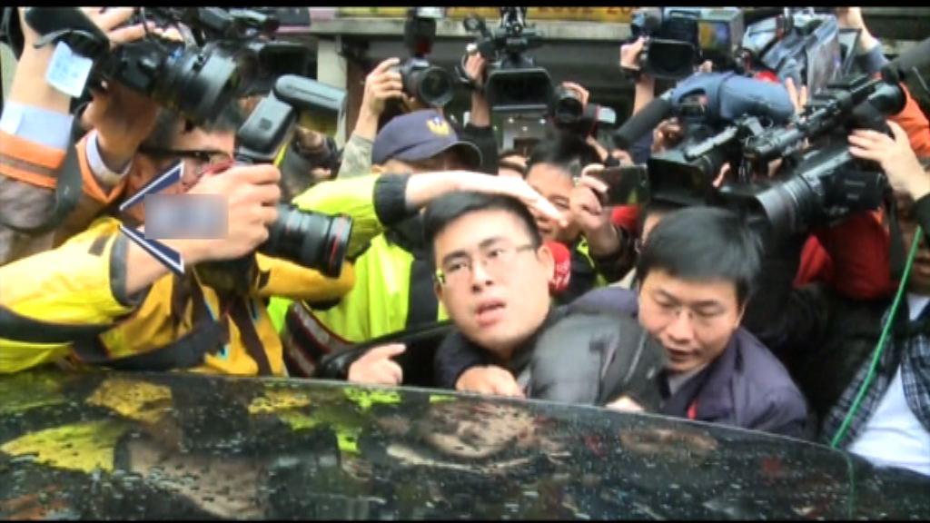 台灣新黨發言人涉違國安法被捕