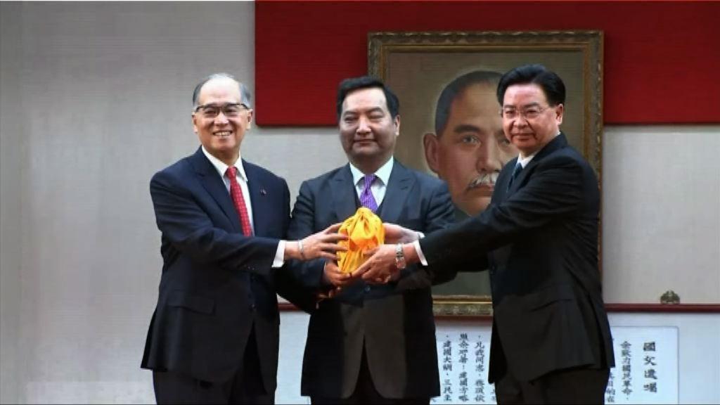 吳釗燮接替李大維任外交部長