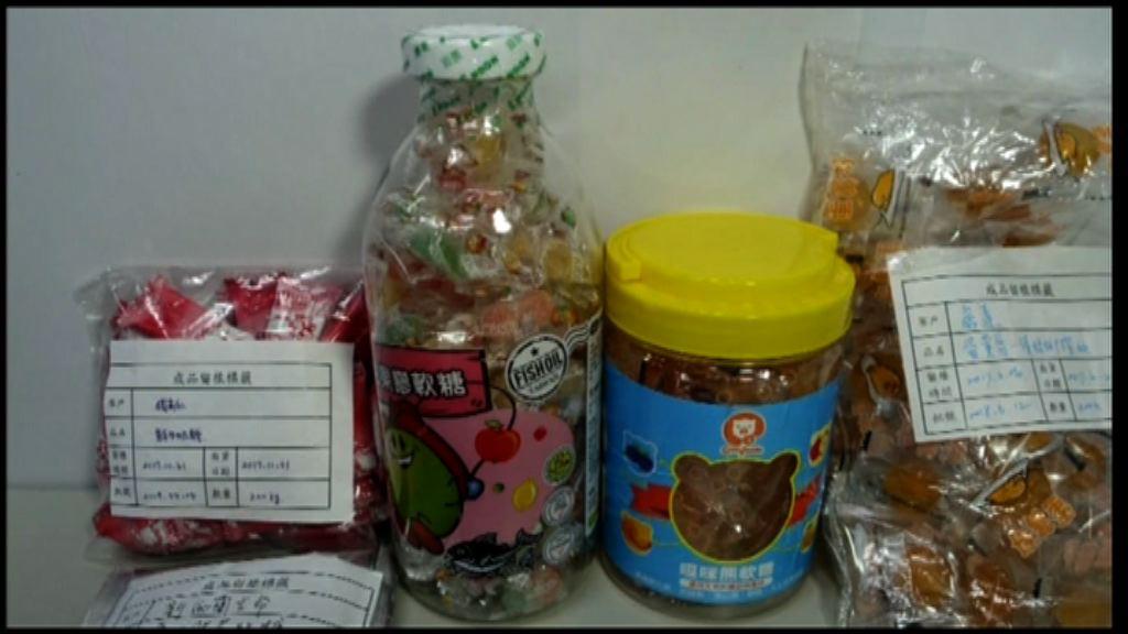 台中工廠以逾期原料製黑心糖果