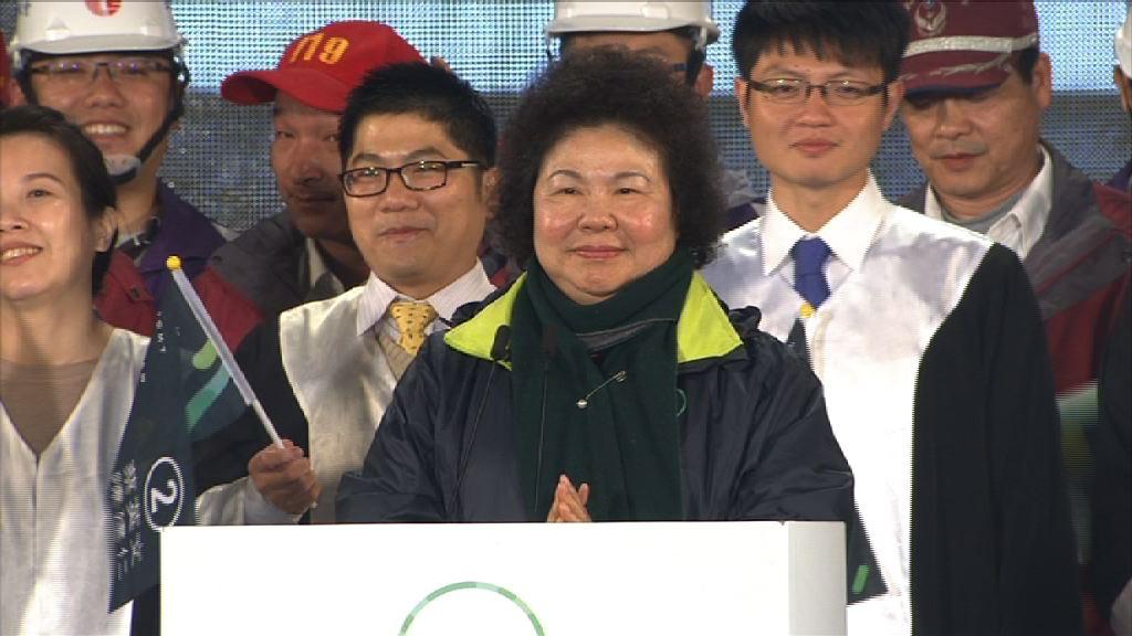 台總統府周三將宣布陳菊接任秘書長