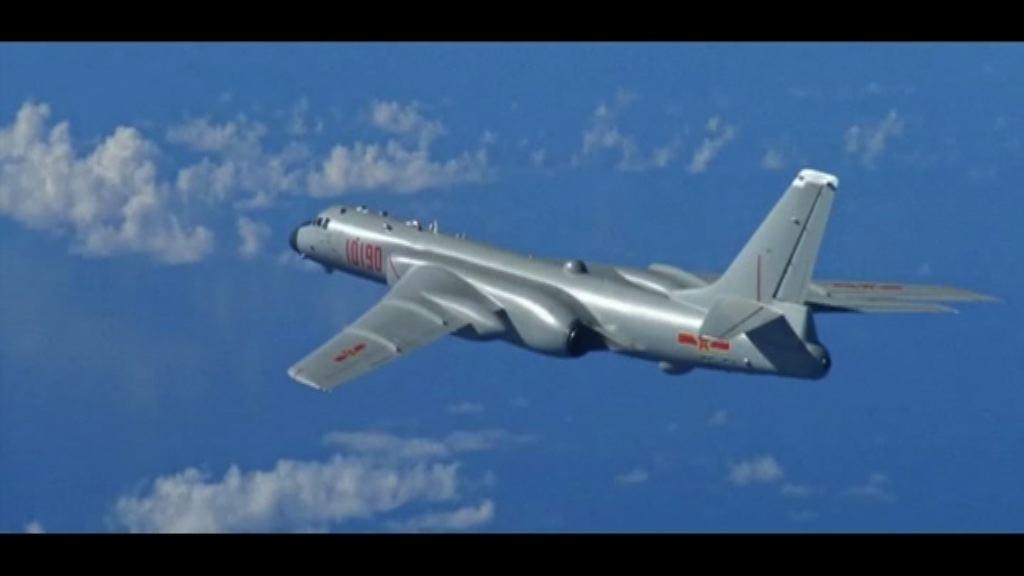 大陸轟炸機曾飛近台防空識別區