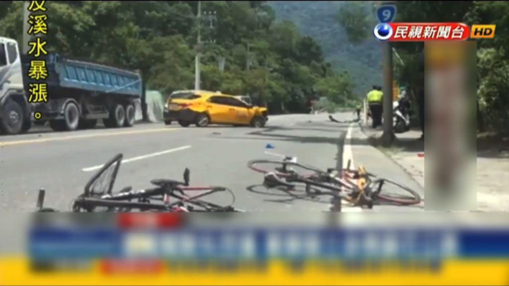 台灣蘇花公路車禍兩名單車騎士死亡