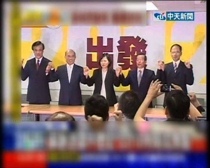 蘇貞昌謝長廷不參選黨主席