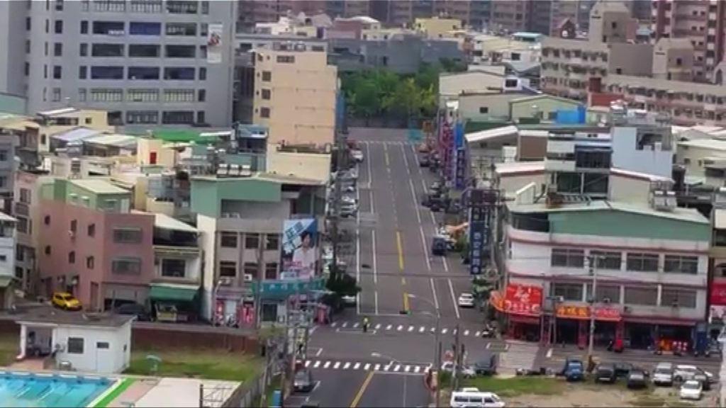 台灣南部舉行萬安演習民眾疏散