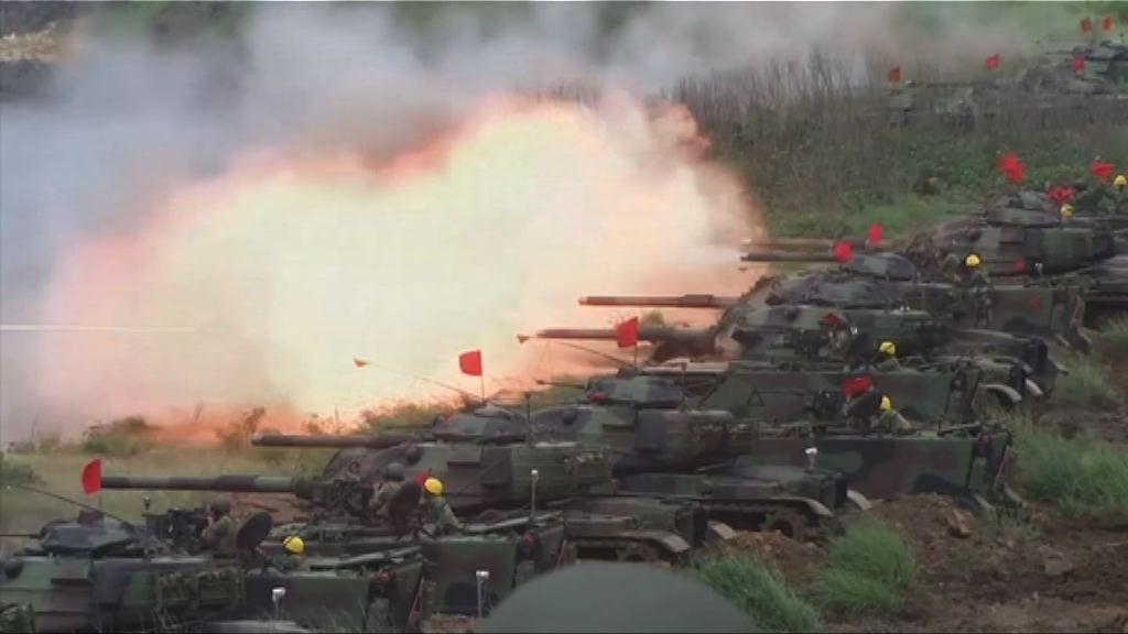 台灣漢光演習模擬反登陸作戰