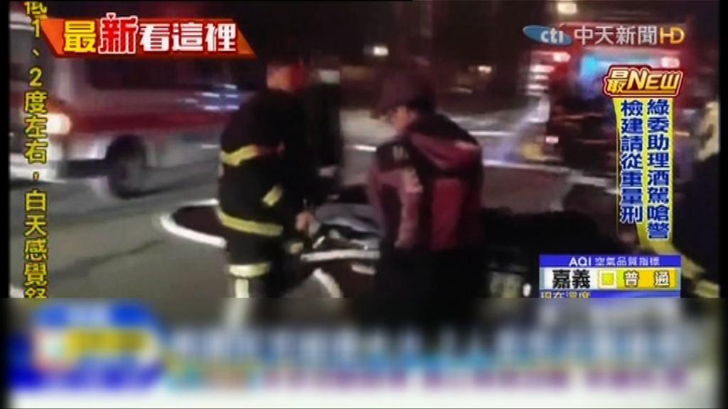 桃園市三層住宅火警兩死三傷