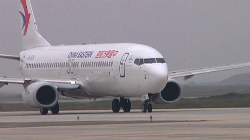 台灣暫不核准東航及廈航春節加開航班