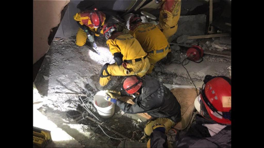 花蓮地震 雲門翠堤大樓內有大陸旅客仍失蹤