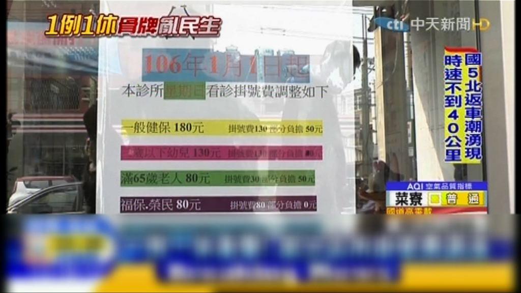 台灣診所加價應付假日加班費支出