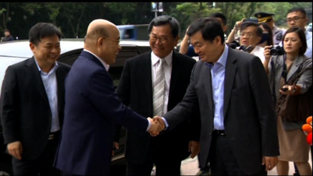 蘇貞昌接受民進黨徵召出選新北市長